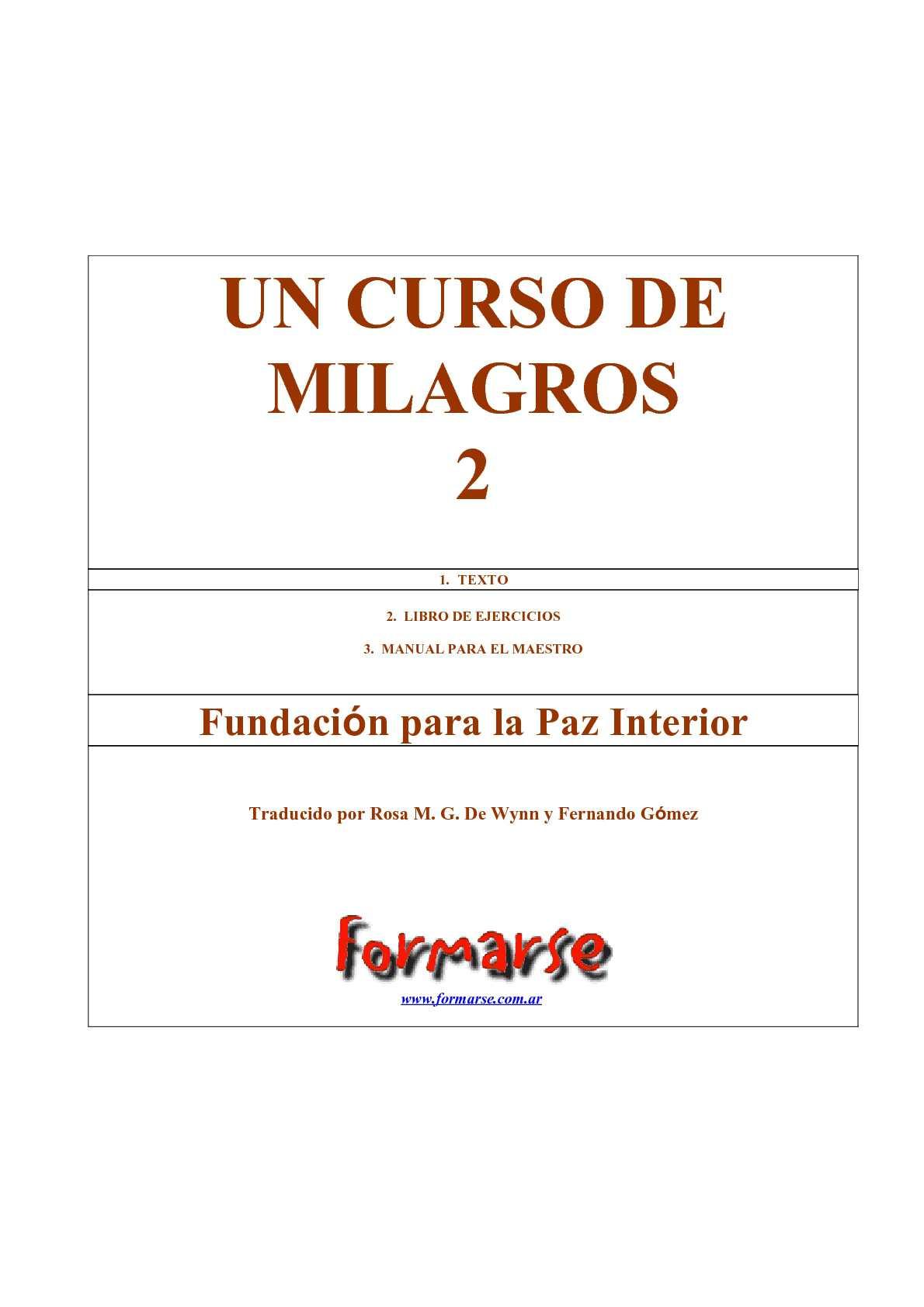 fa2faf570a69d Calaméo - Un Curso de Milagros - 2ª Parte
