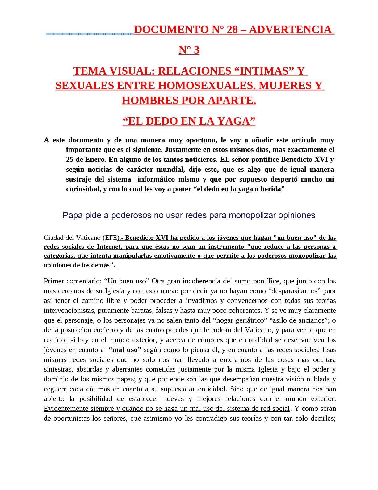 Aberraciones A Jovenes Porno calaméo - documento n° 28 homosexualismo