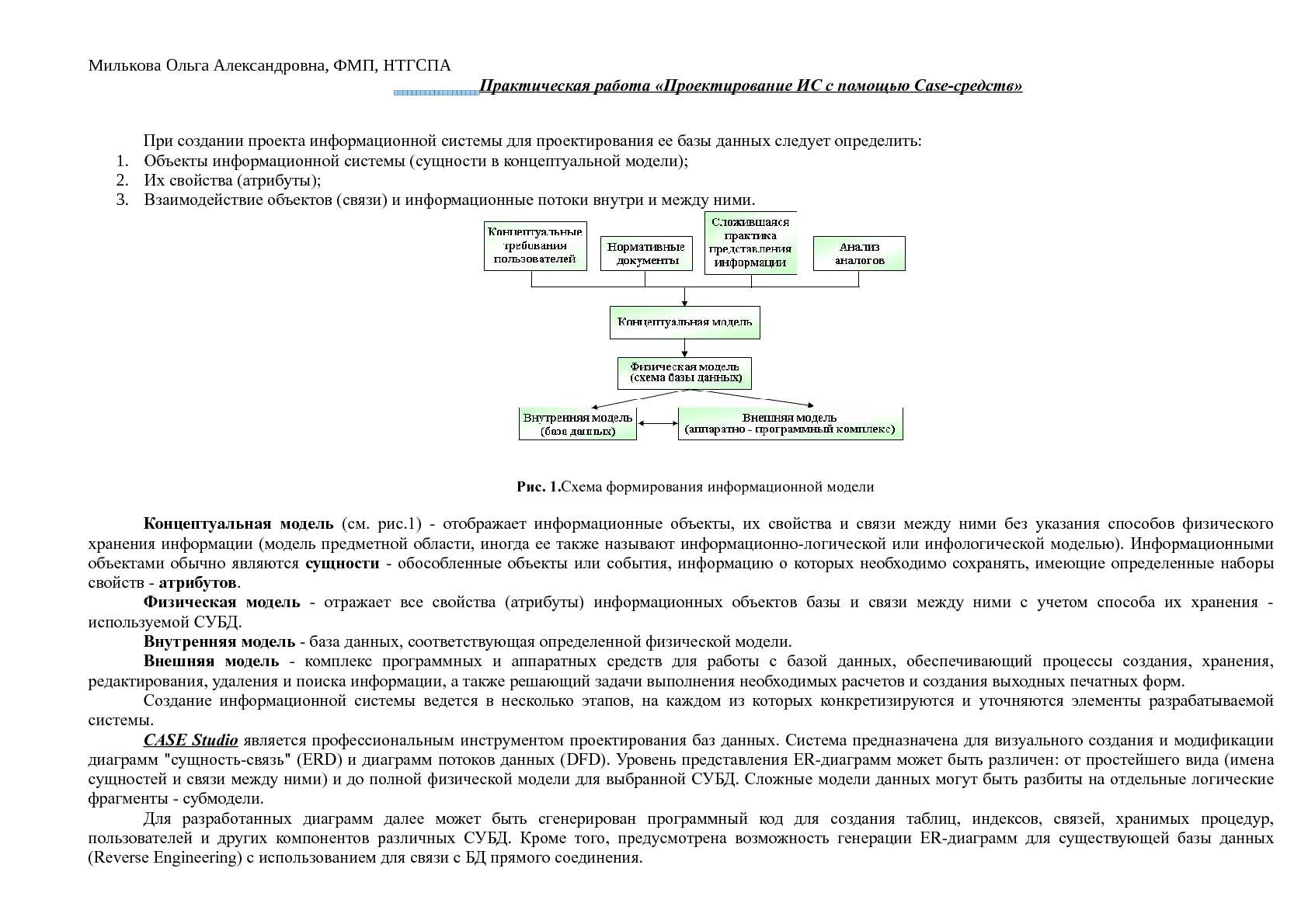Модели работы с информационной базой девушка модель вакансии москва без опыта работы