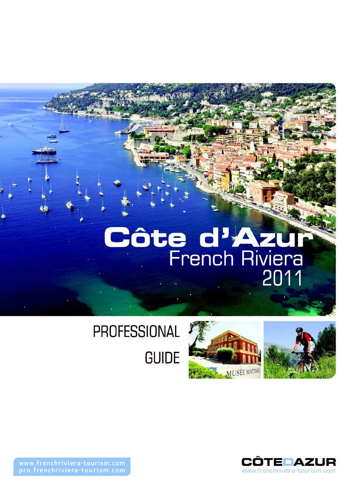 Calaméo - Guide Professionnel Côte d\'Azur 2011 - Version GB