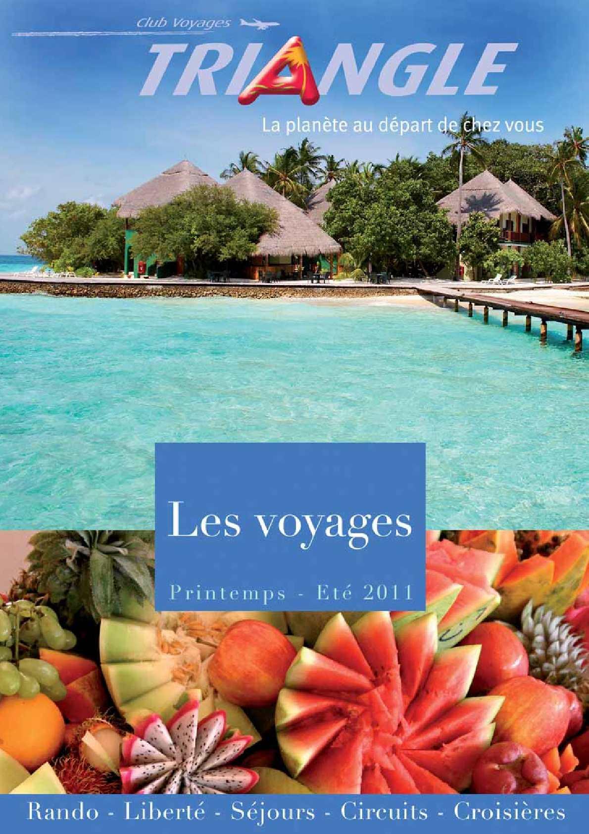 49177d85366cee Calaméo - Voyages individuels, Printemps - Eté 2011