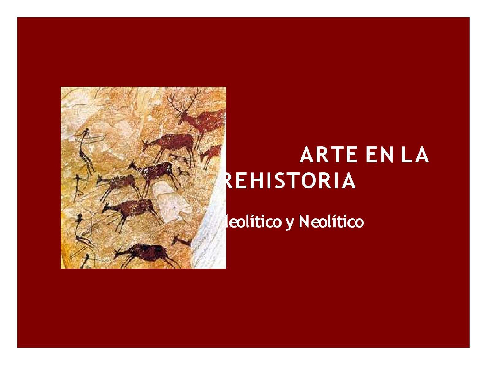 Calaméo - arte prehistoria
