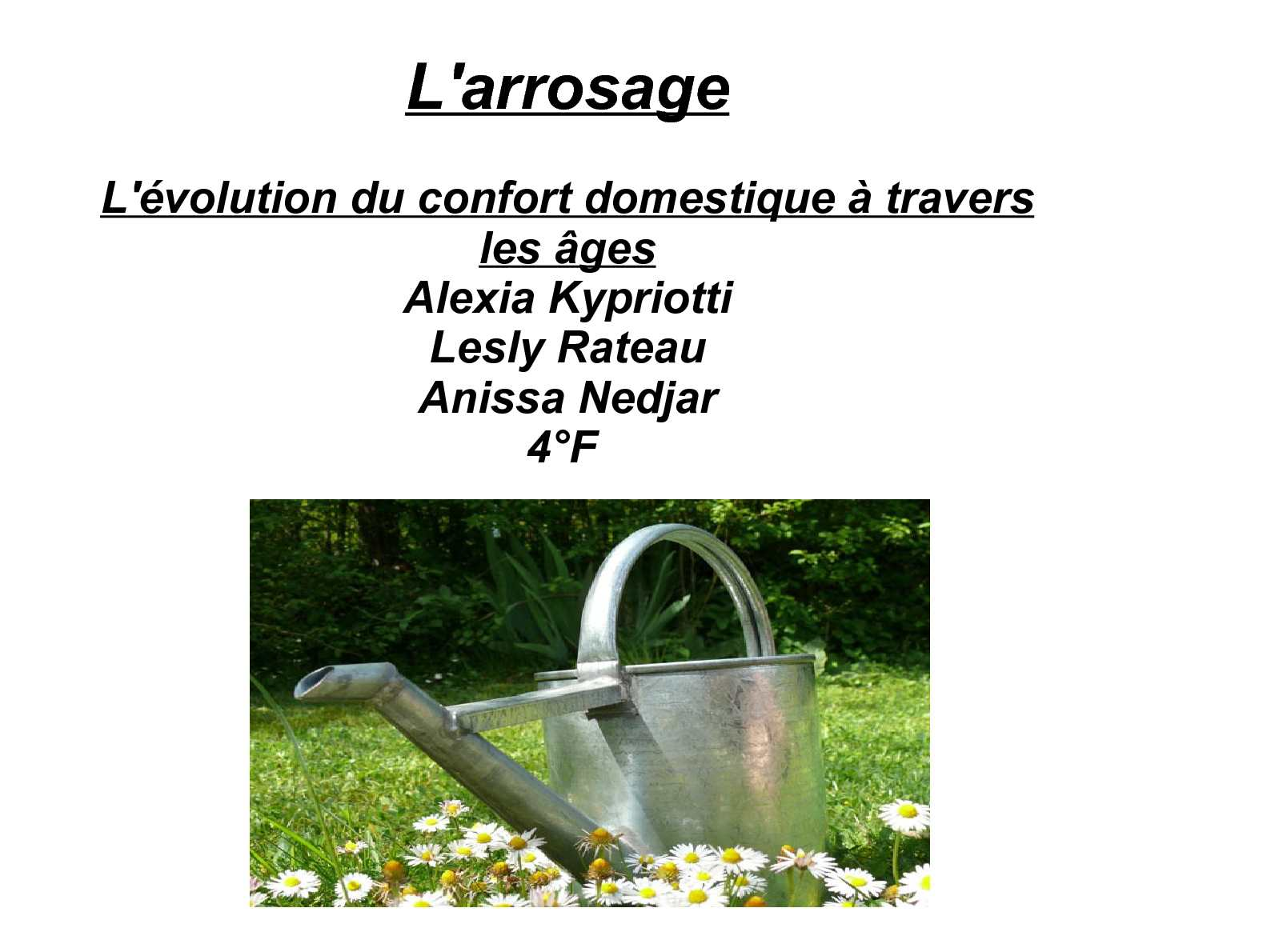 Systeme Arrosage Automatique Potager calaméo - technique d'arrosage à travers le temps .