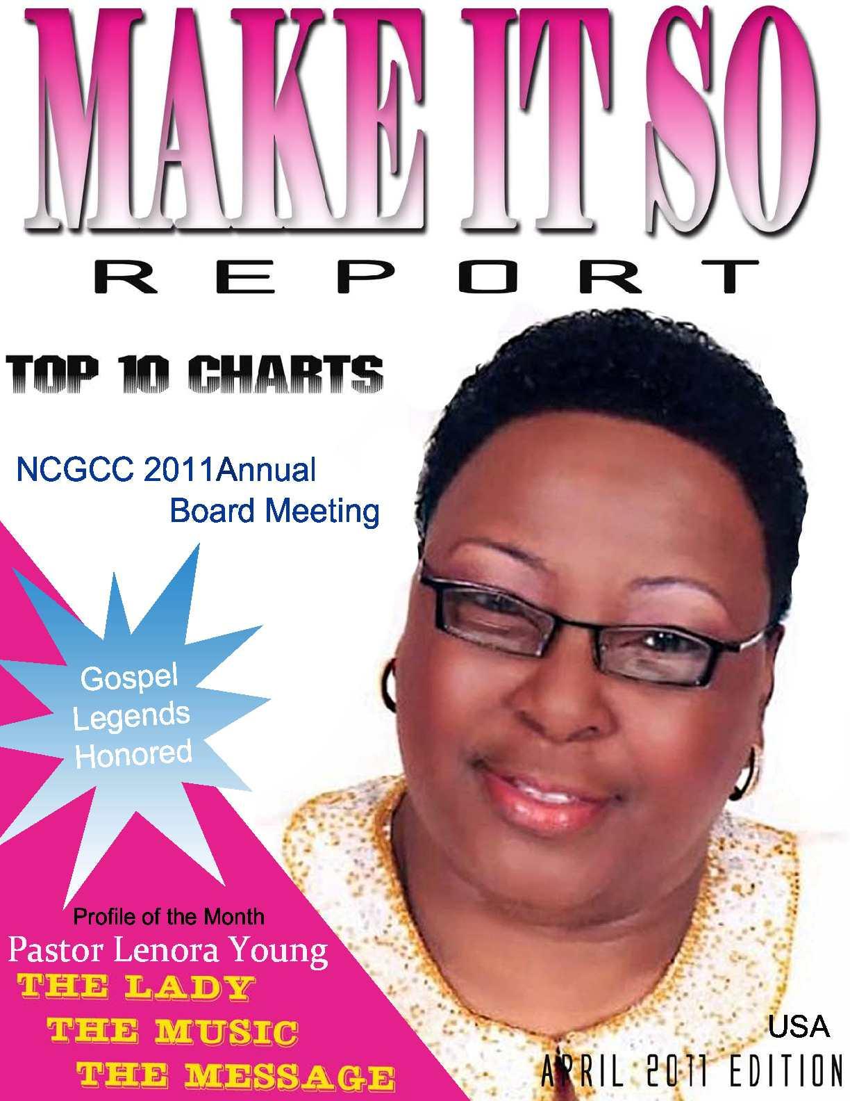 Make It So Report E-Magazine April 2011 Issue