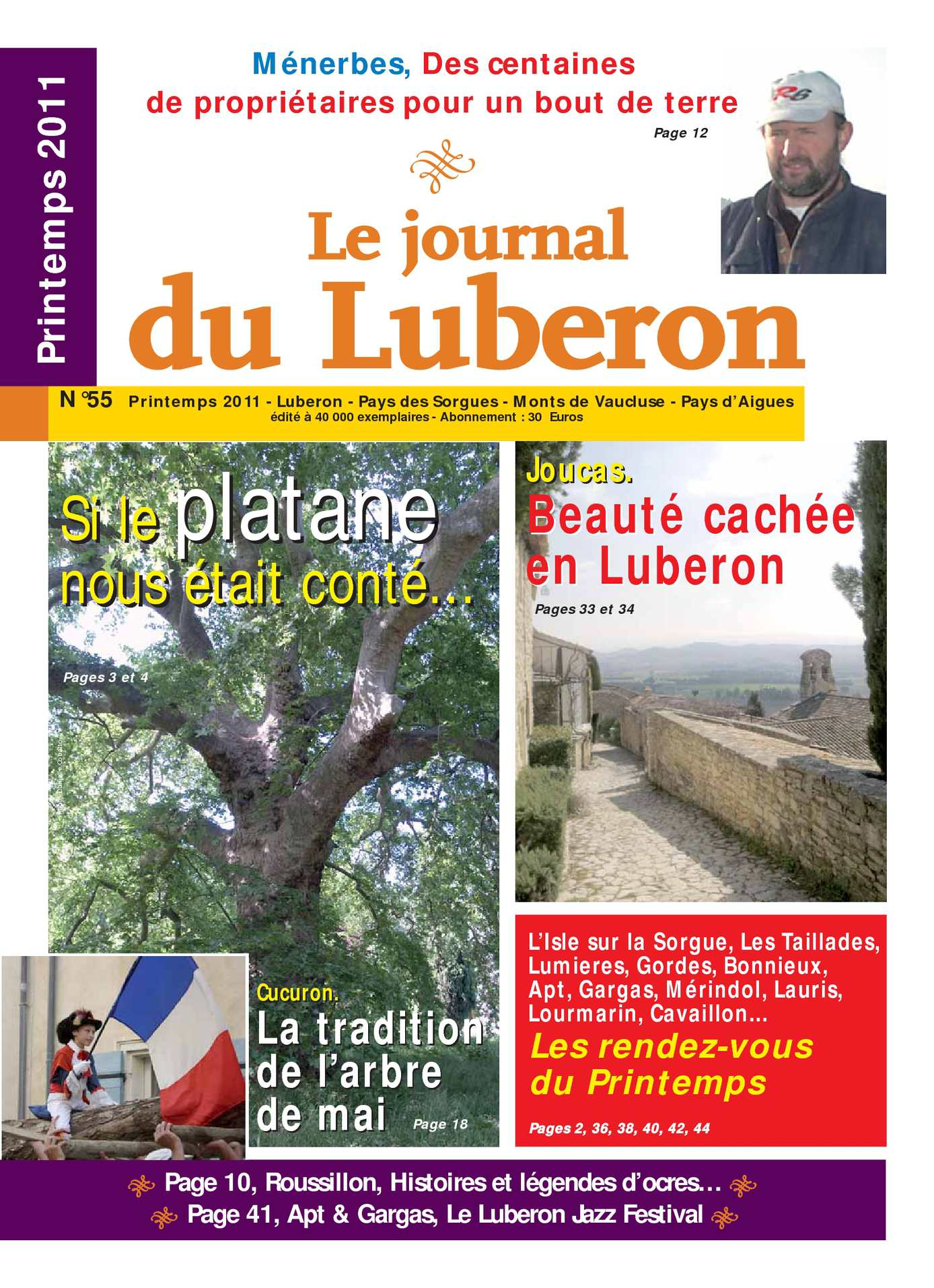 Luberon Calaméo Du Journal 2011 Printemps lJTKF31c