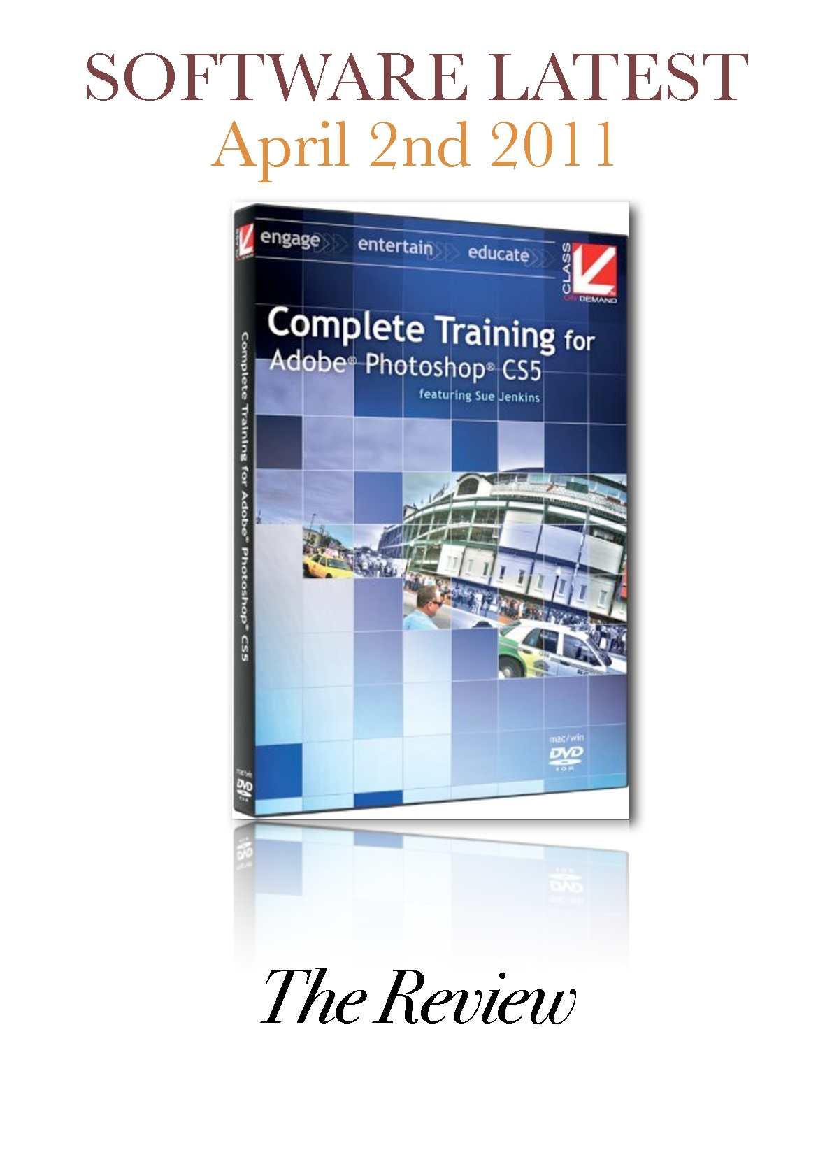 Adobe Photoshop Cs5 Classroom In A Book Dvd