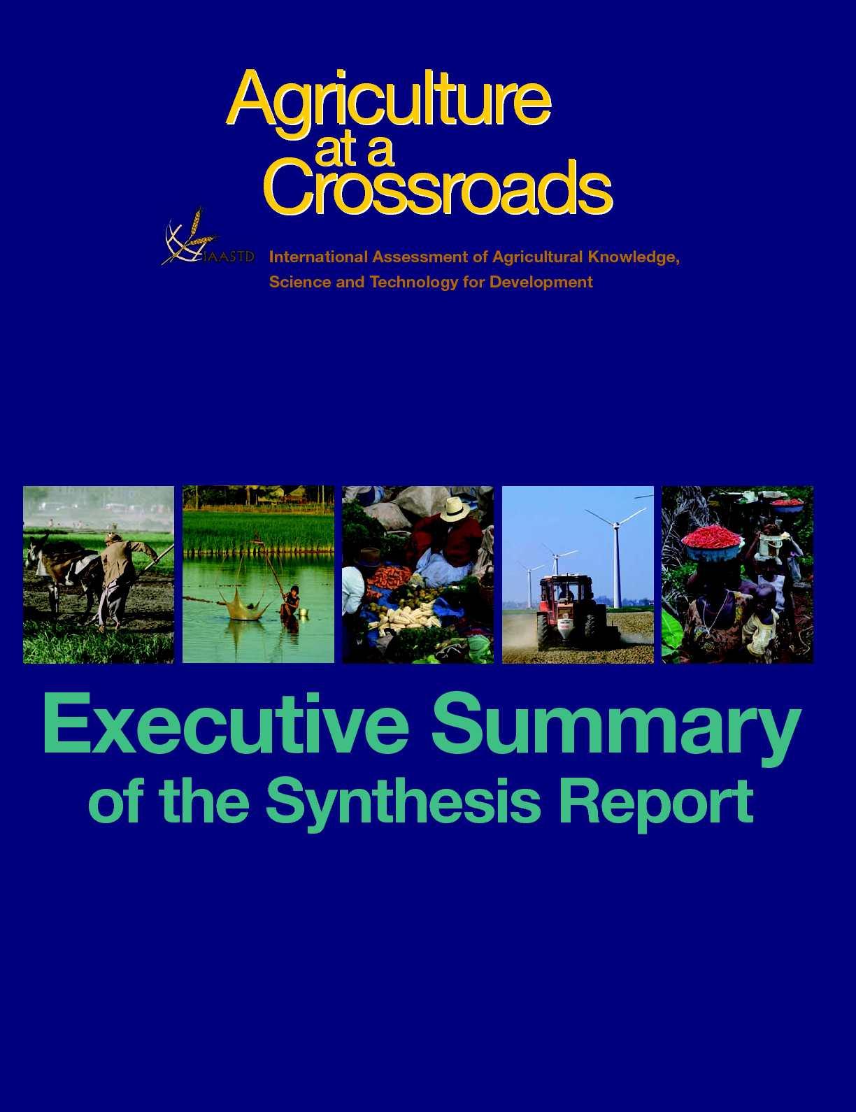 Resultado de imagen de Agriculture at the Crossroads,