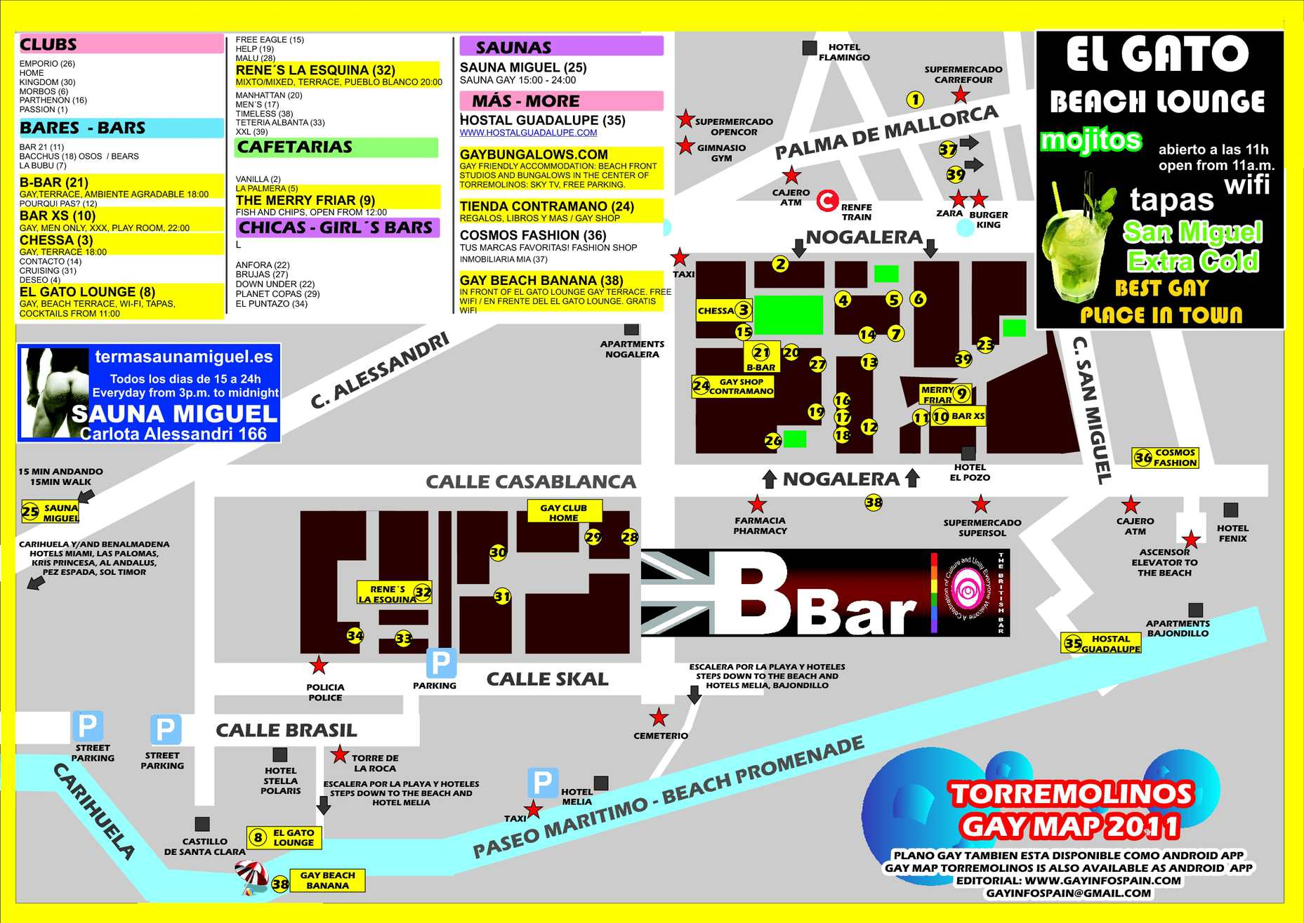 maps and photos of Over 50 crowd Gay Bars