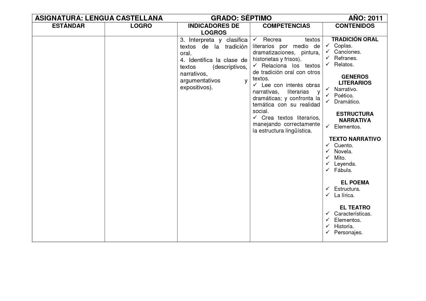 Plan De Estudios Lengua Castellana Calameo Downloader