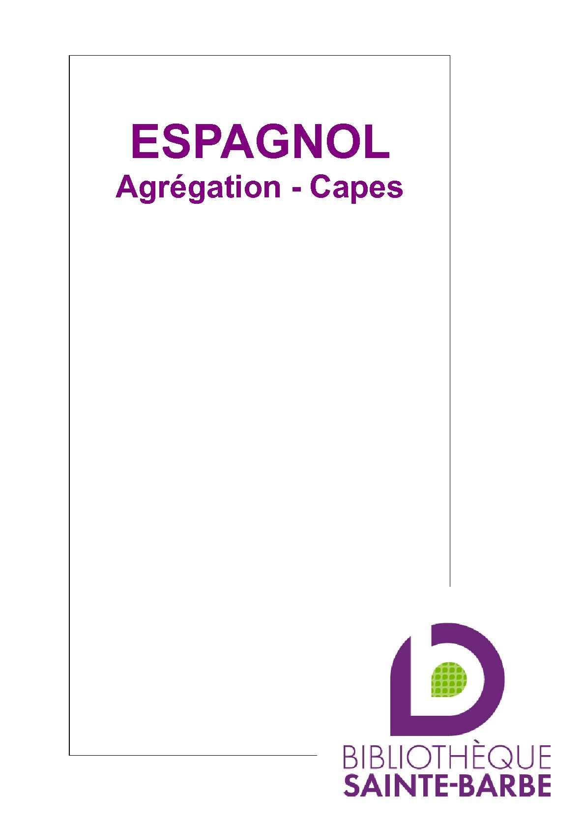 capes interne espagnol