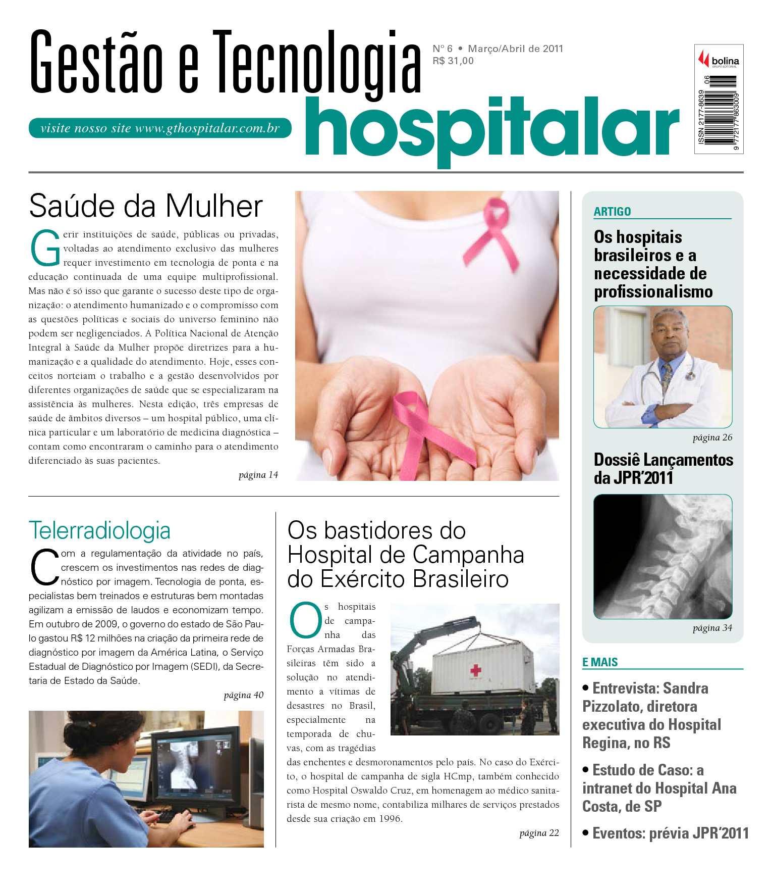 adc9116c6 Calaméo - Gestão e Tecnologia Hospitalar - Brasil #06