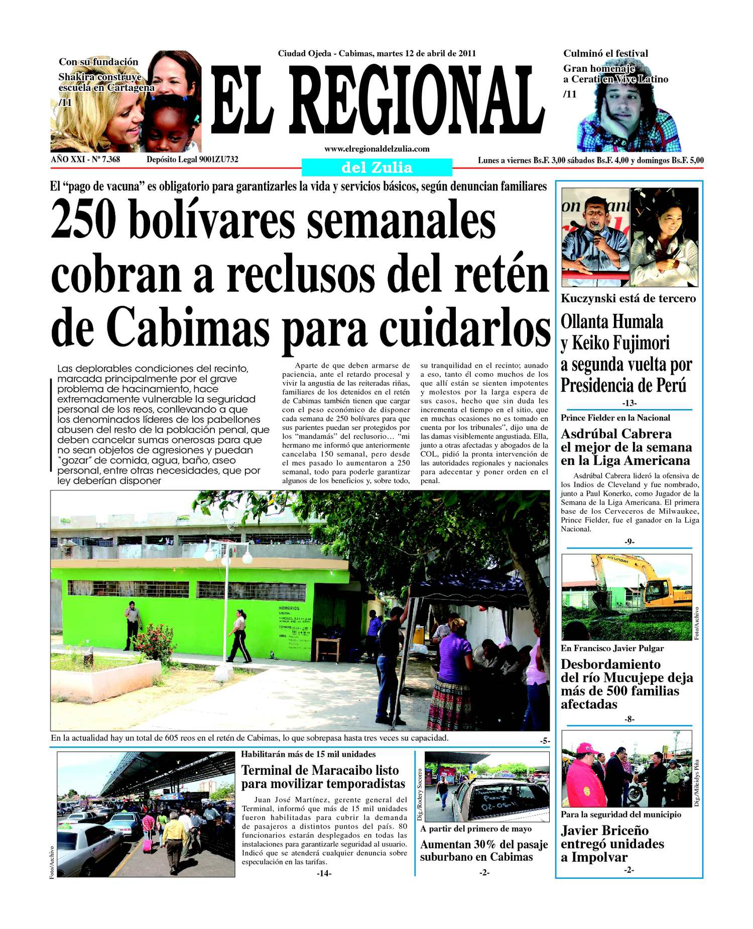 Calaméo El Regional Del Zulia 12 04 2011