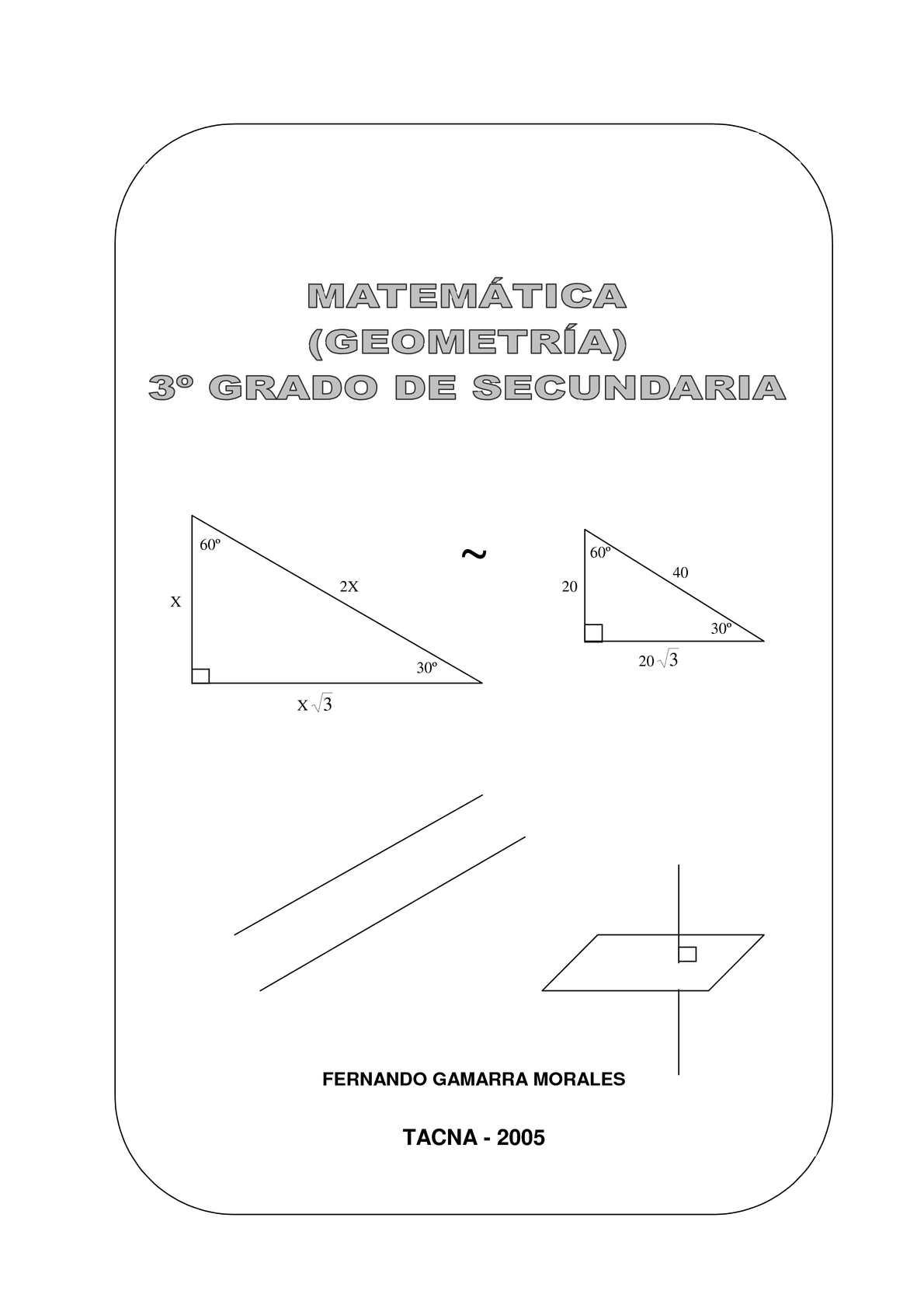 Geometría (3º grado de secundaria)
