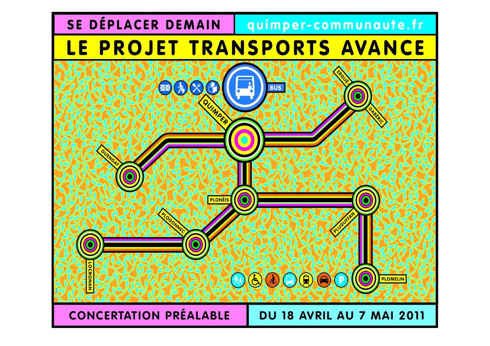 Calaméo - Projet transports de Quimper Communauté - Le