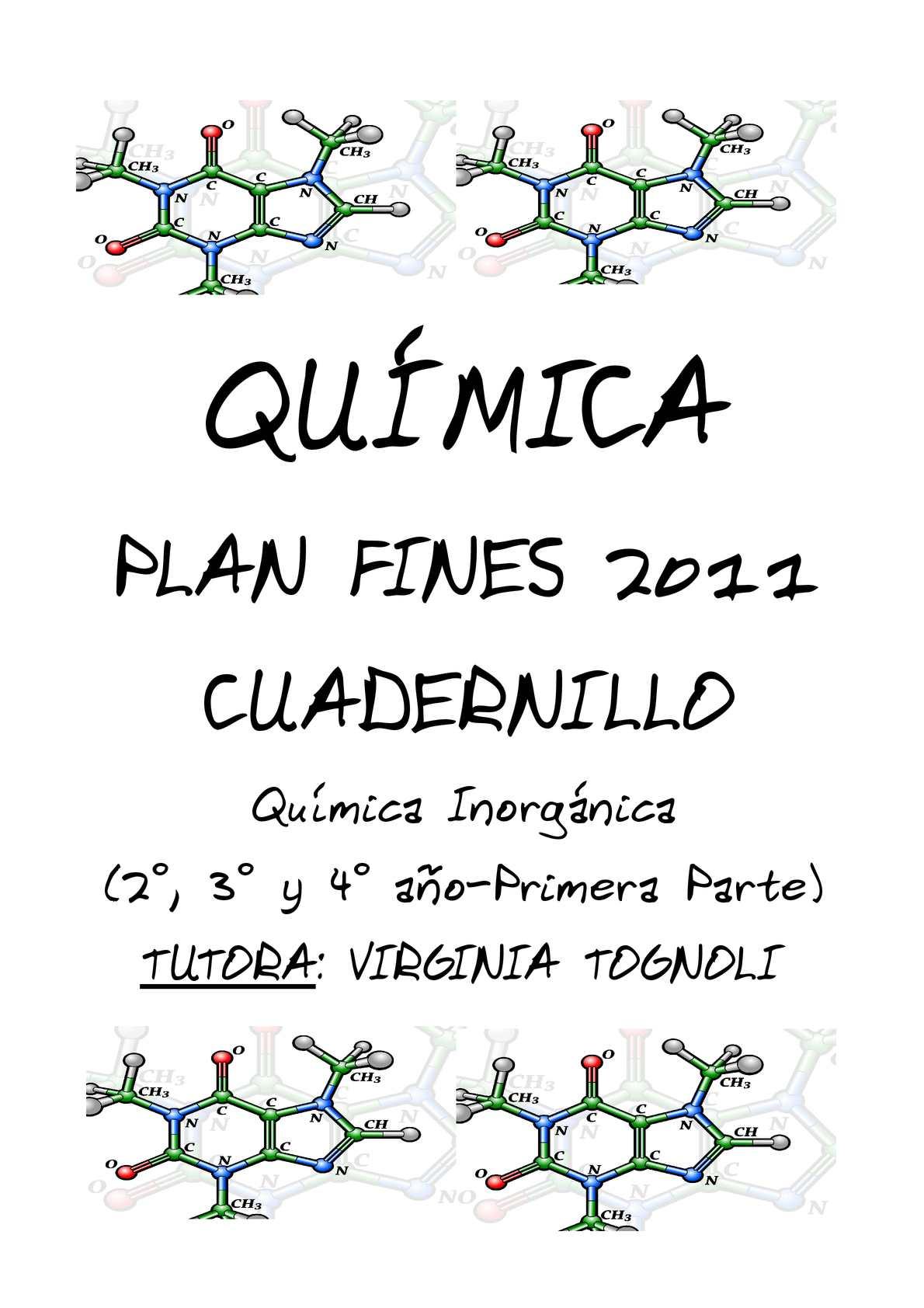 Calameo Cuadernillo Quimica Inorganica Primera Parte