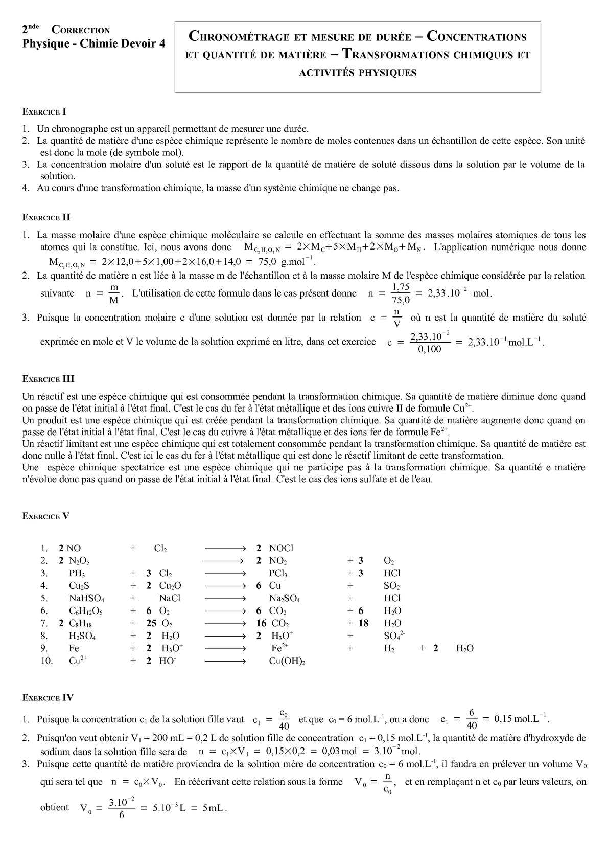 Calaméo - DS 4 - Seconde - Chronométrage et mesure de ...