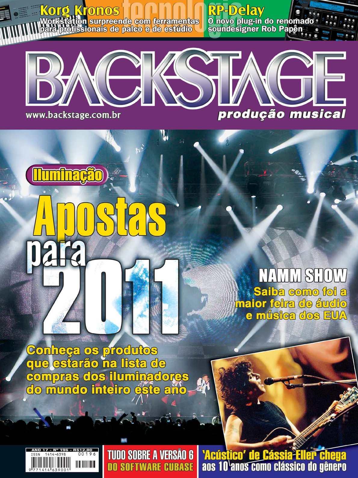 893117fd2d9 Calaméo - Revista Backstage Edição 196 - Março 2011