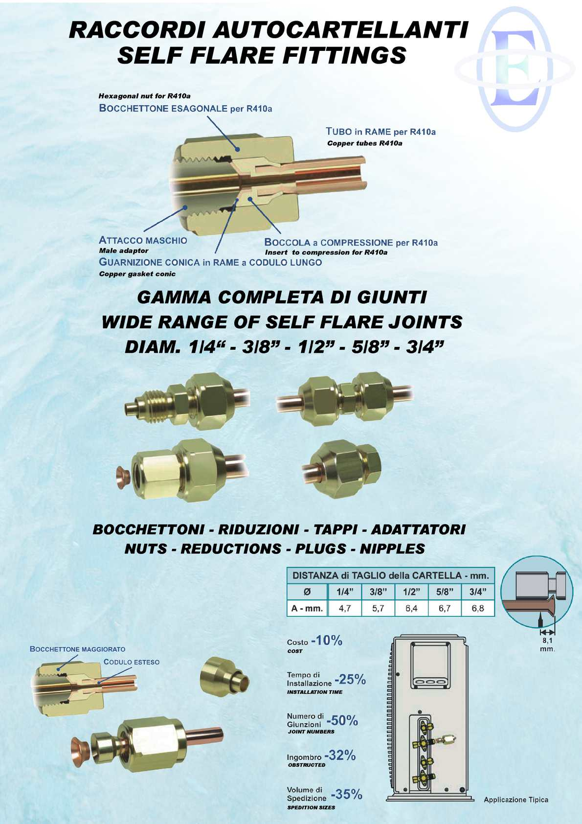 Calaméo - Self flare brass fitting for copper tubes air conditioning