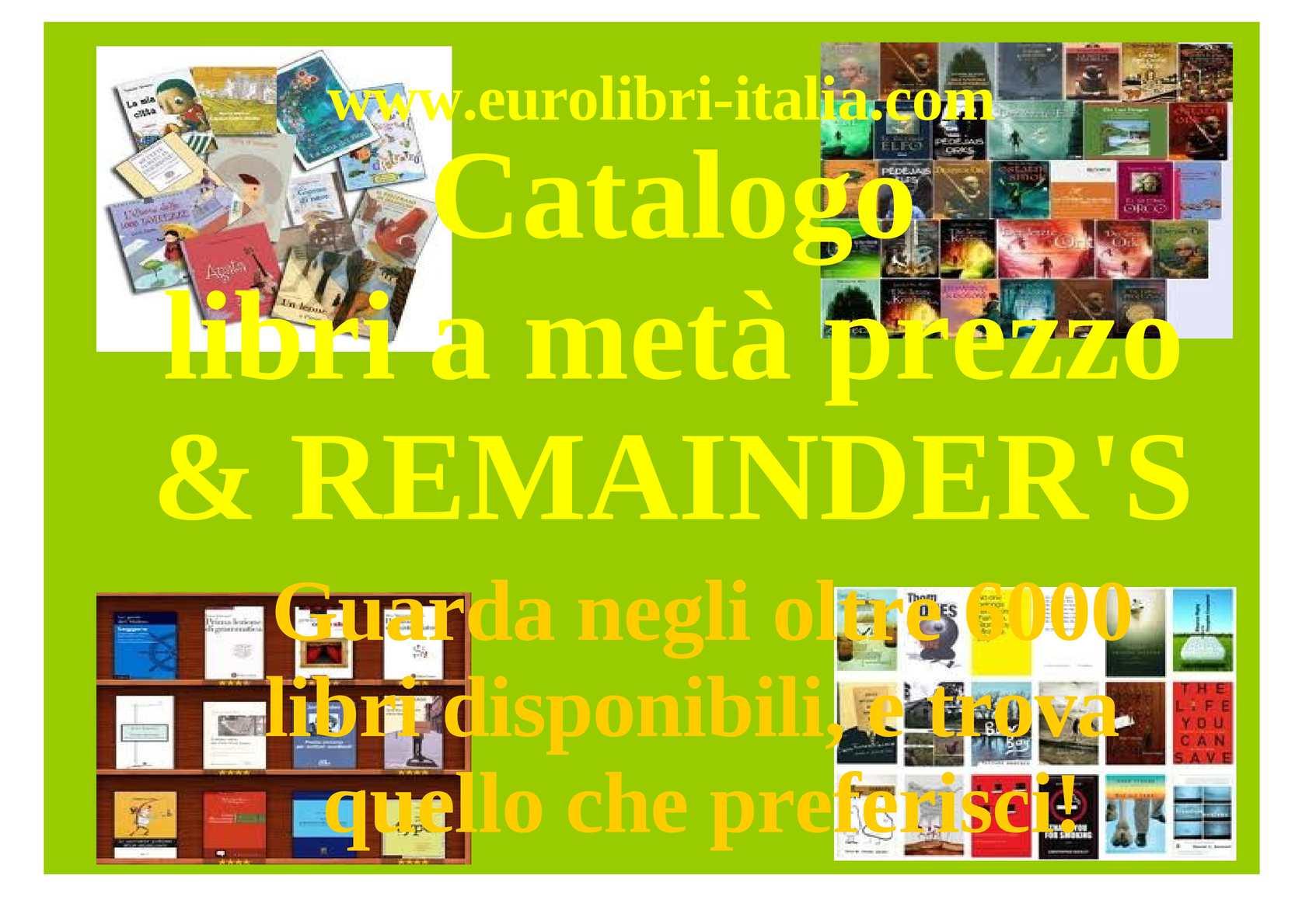 Calaméo Catalogo Libri A Meta Prezzo Oltre 6000 Libri