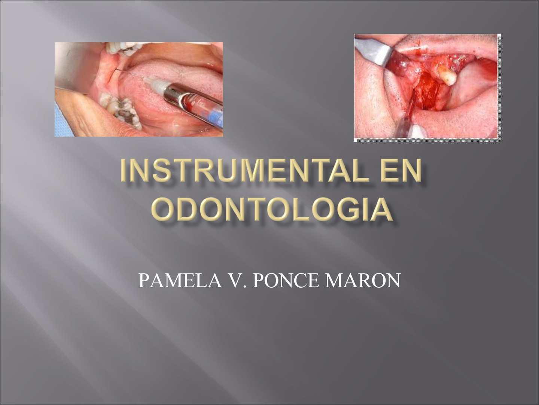 Instrumental odontologia - CALAMEO Downloader 9be88f8fba36