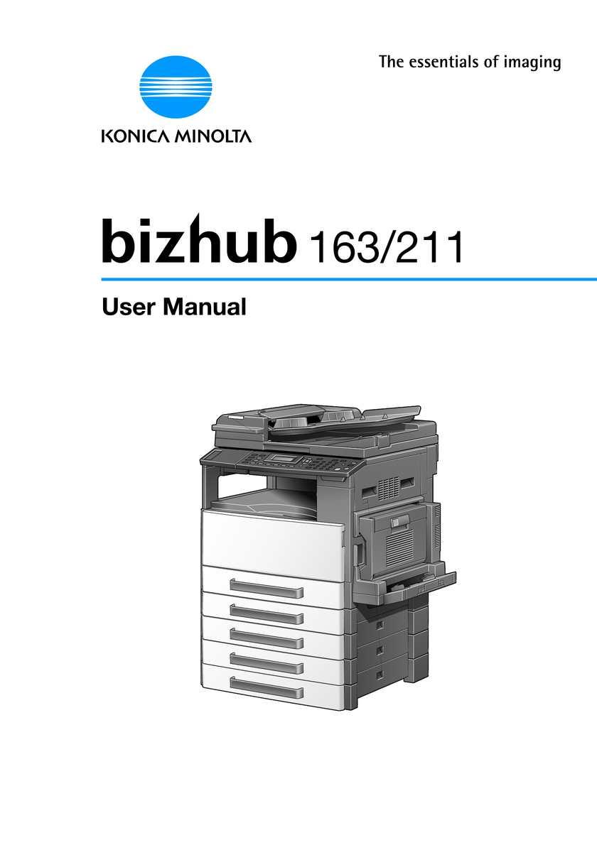 calam o bizhub 163 user manual rh calameo com bizhub-163-service-manual-pdf