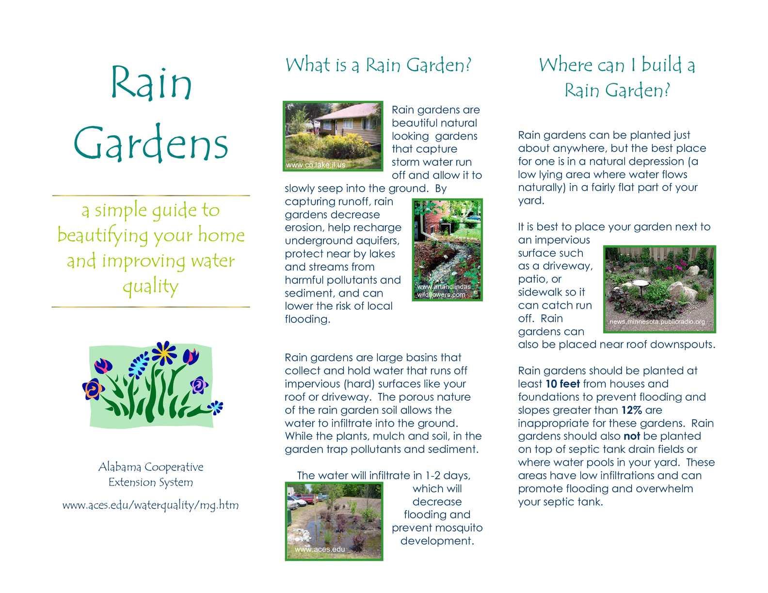 Calaméo - AL: Rain Garden Brochure