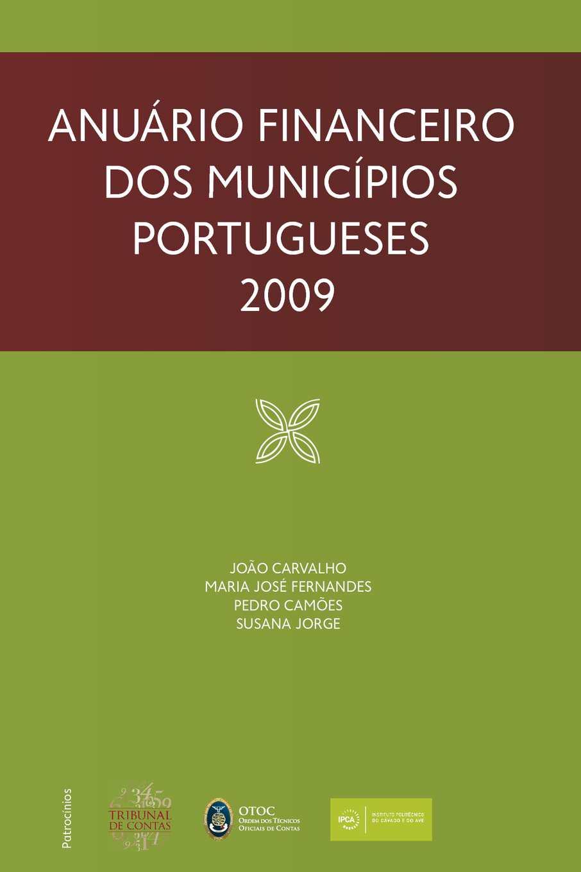 aa82b2c2b Calaméo - Anuário Financeiro dos Municípios Portugueses 2009