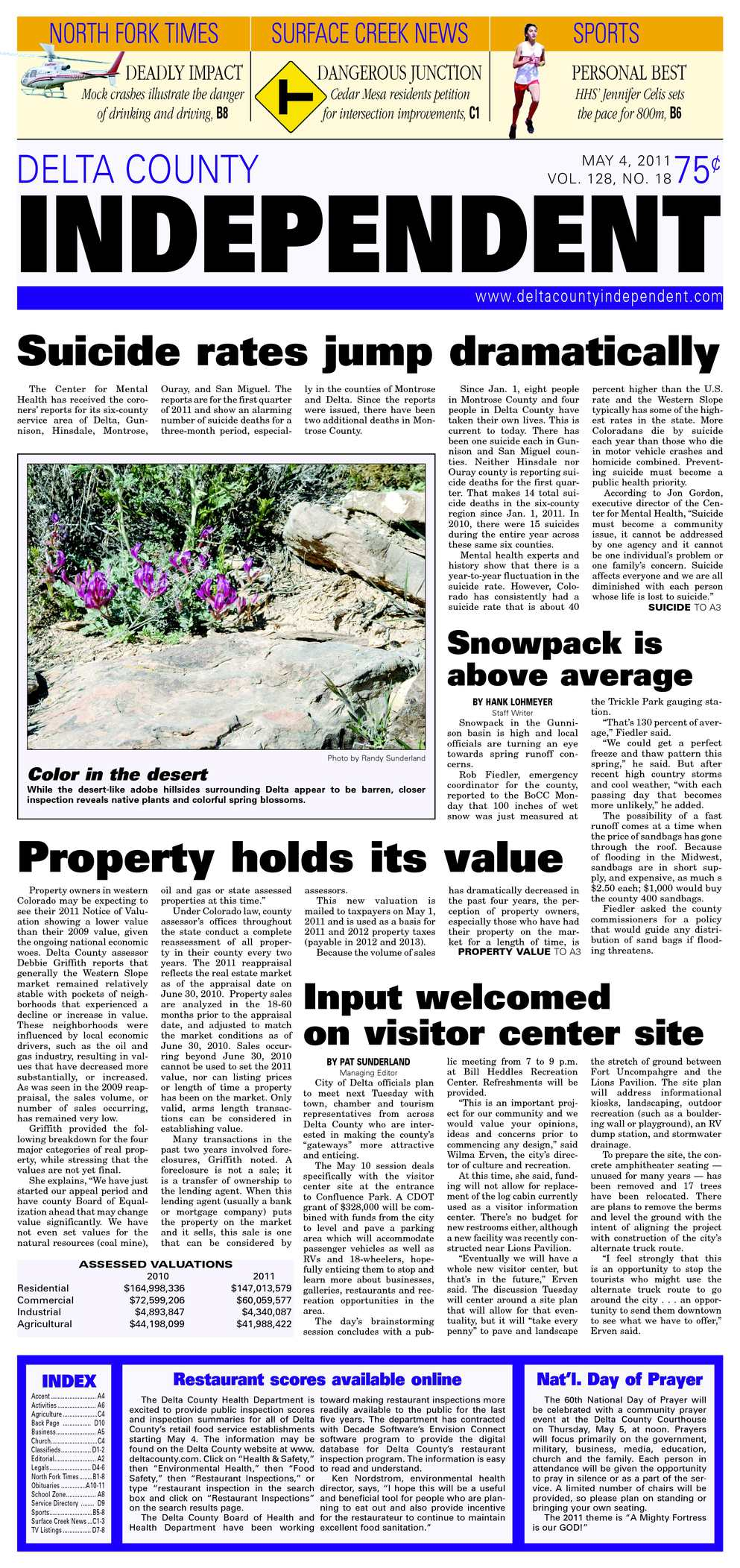 Calaméo - Delta County Independent, Issue 18, May 4, 2011