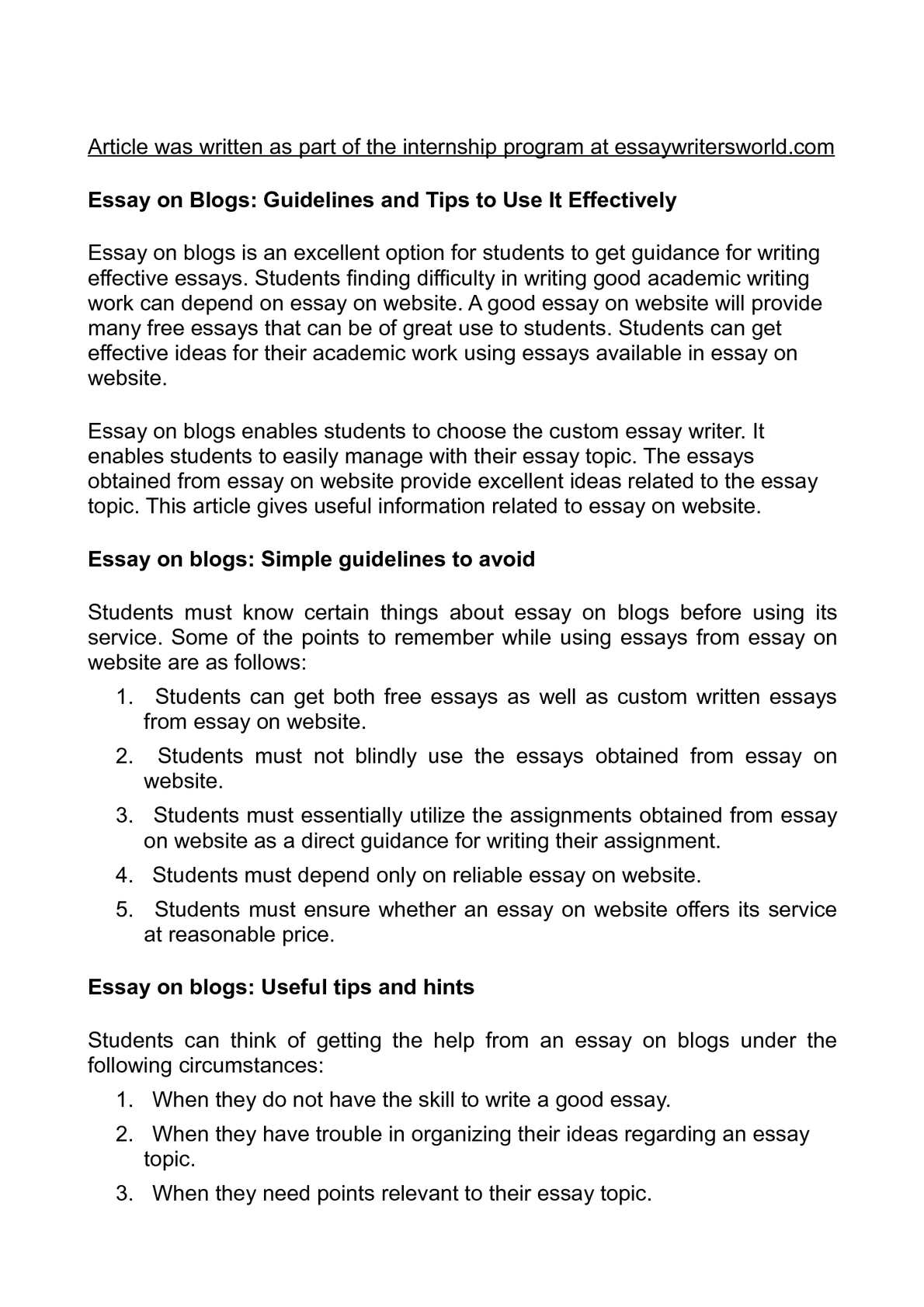 Hire an Essay Writer for the Best Quality Essay Writing Service