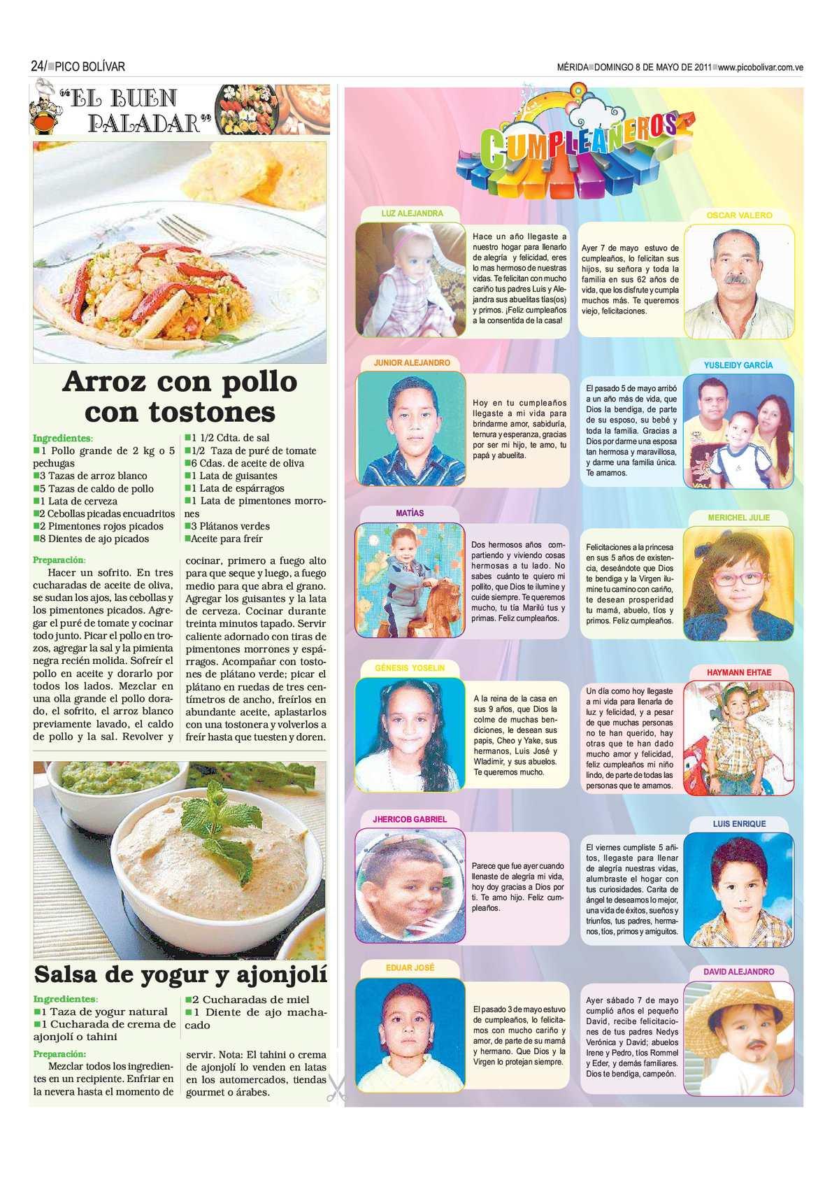 Periódico Pico Bolívar P184 Calameo Downloader