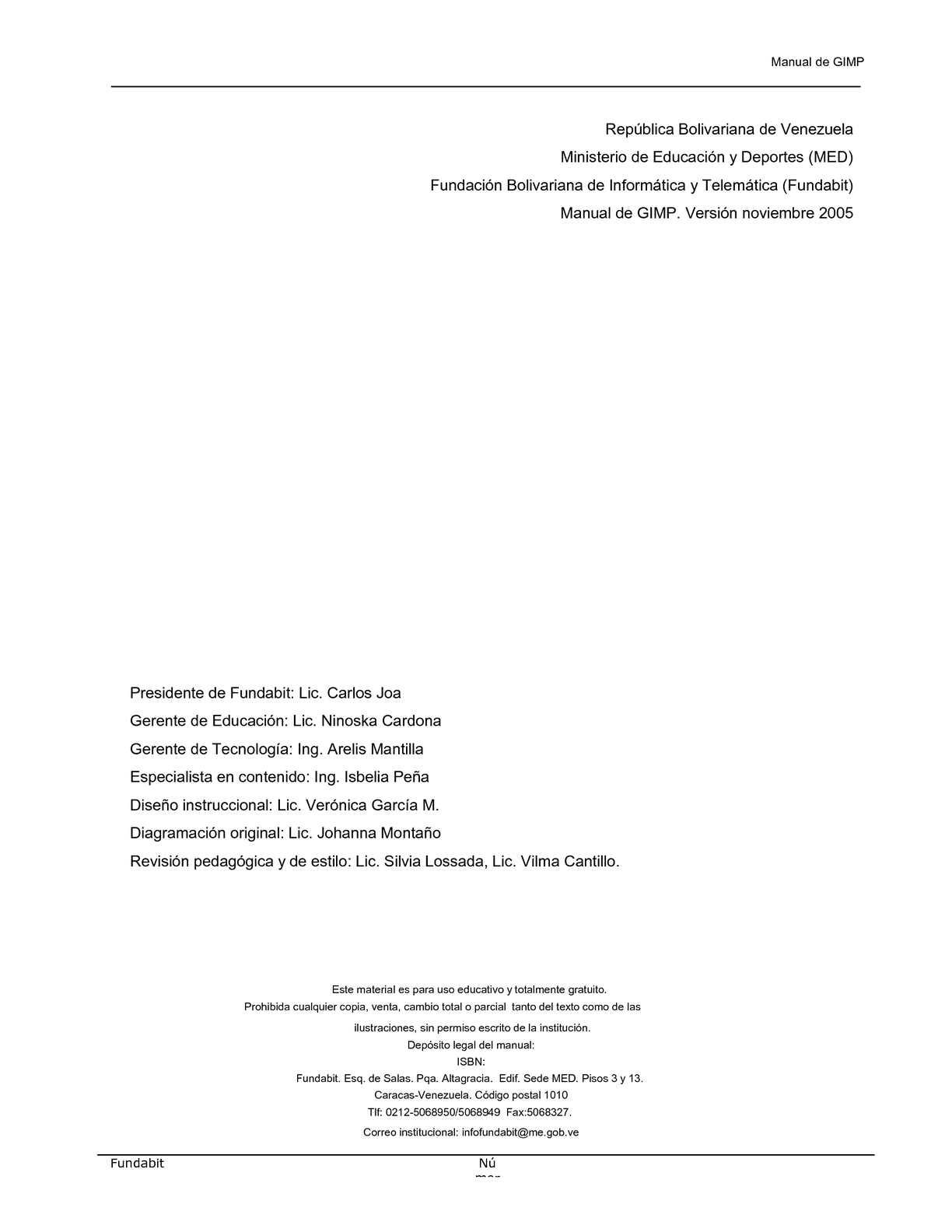 Manual GIMP - CALAMEO Downloader