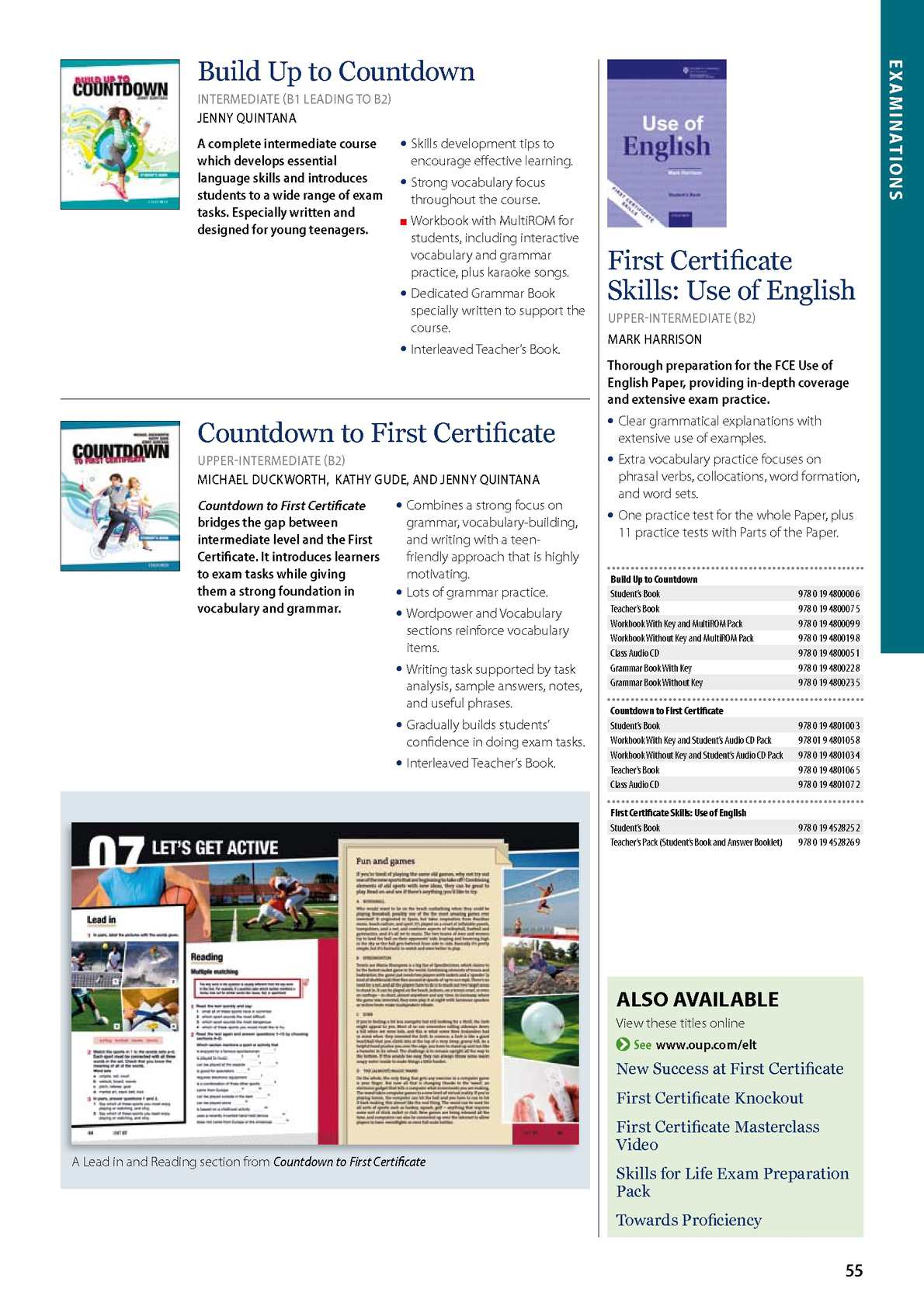 COUNTDOWN TO FIRST CERTIFICATE PDF