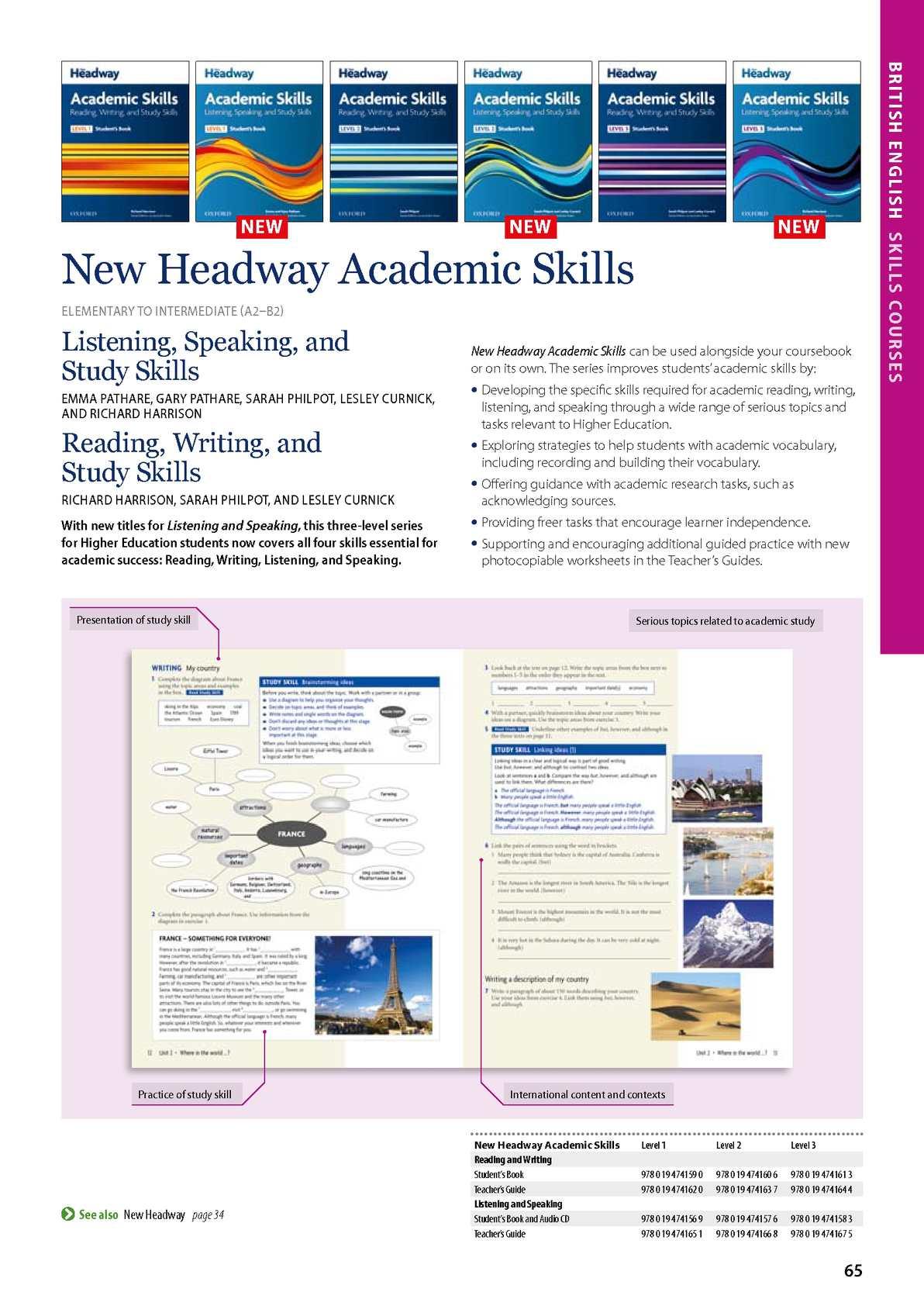 HEADWAY ACADEMIC SKILLS LEVEL 3 PDF DOWNLOAD