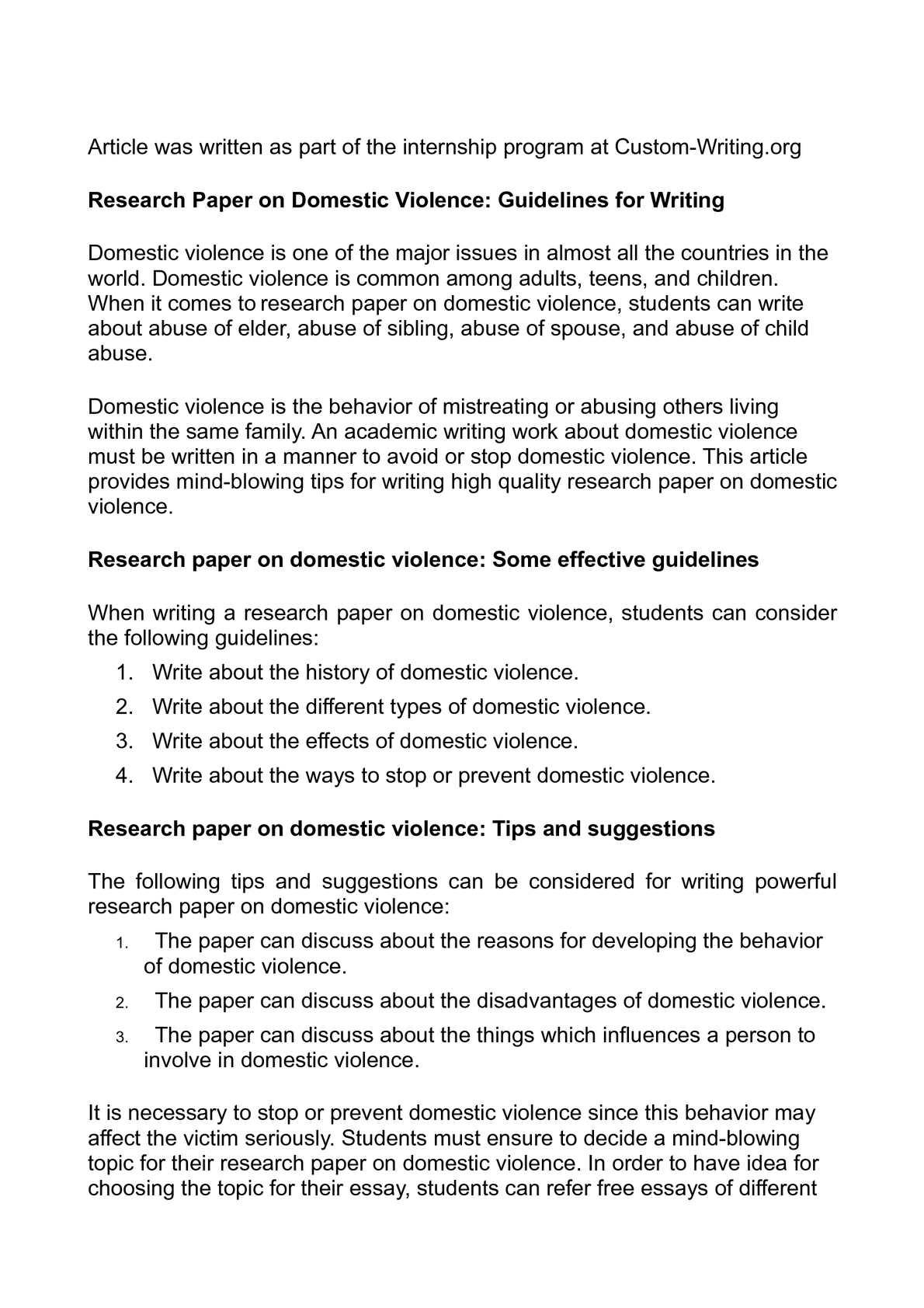 calamo   research paper on domestic violence guidelines for writing research paper on domestic violence guidelines for writing