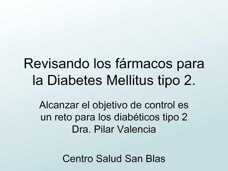 tratamiento de la diabetes eucreas