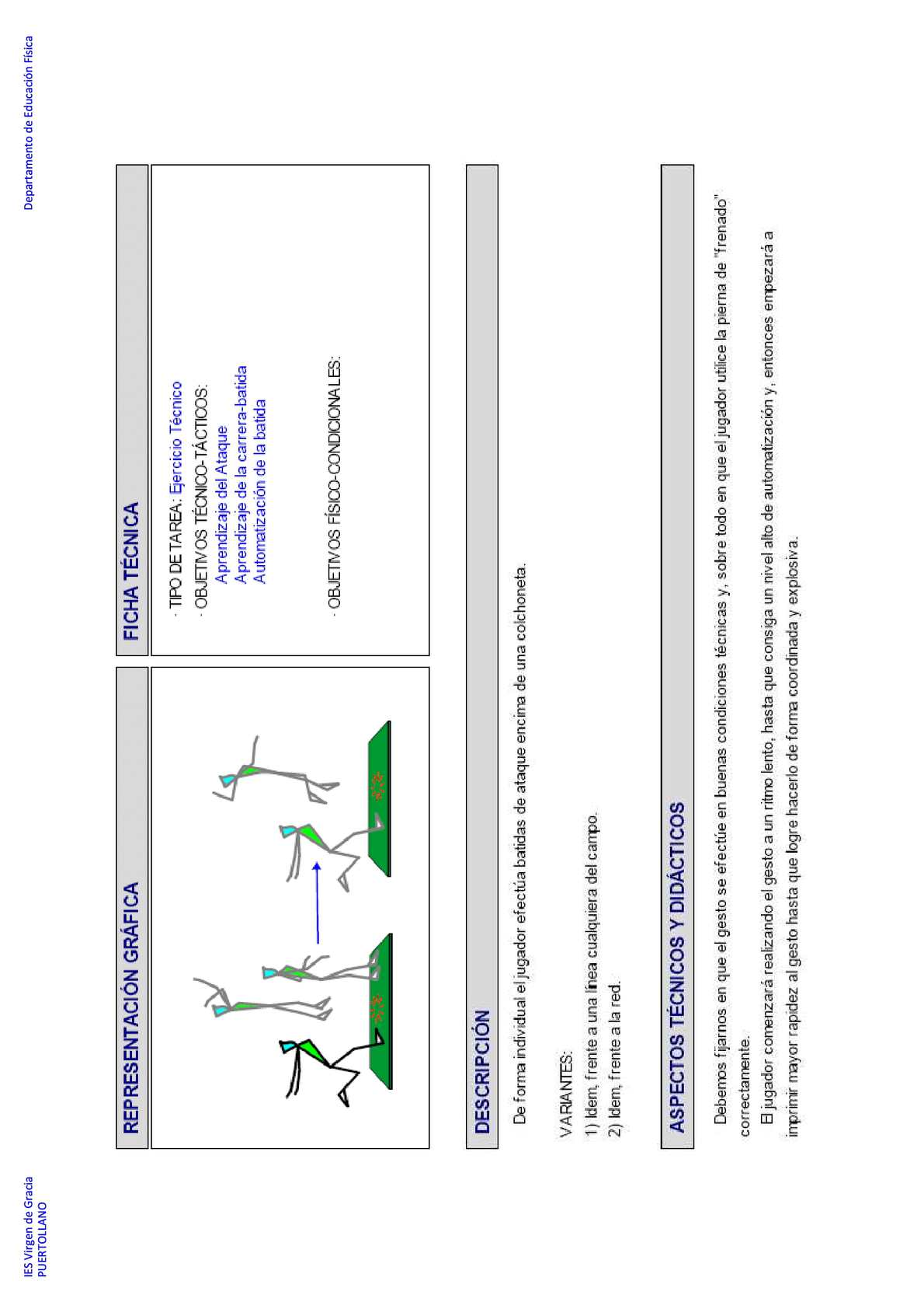 ejercicios para el remate en voleibol