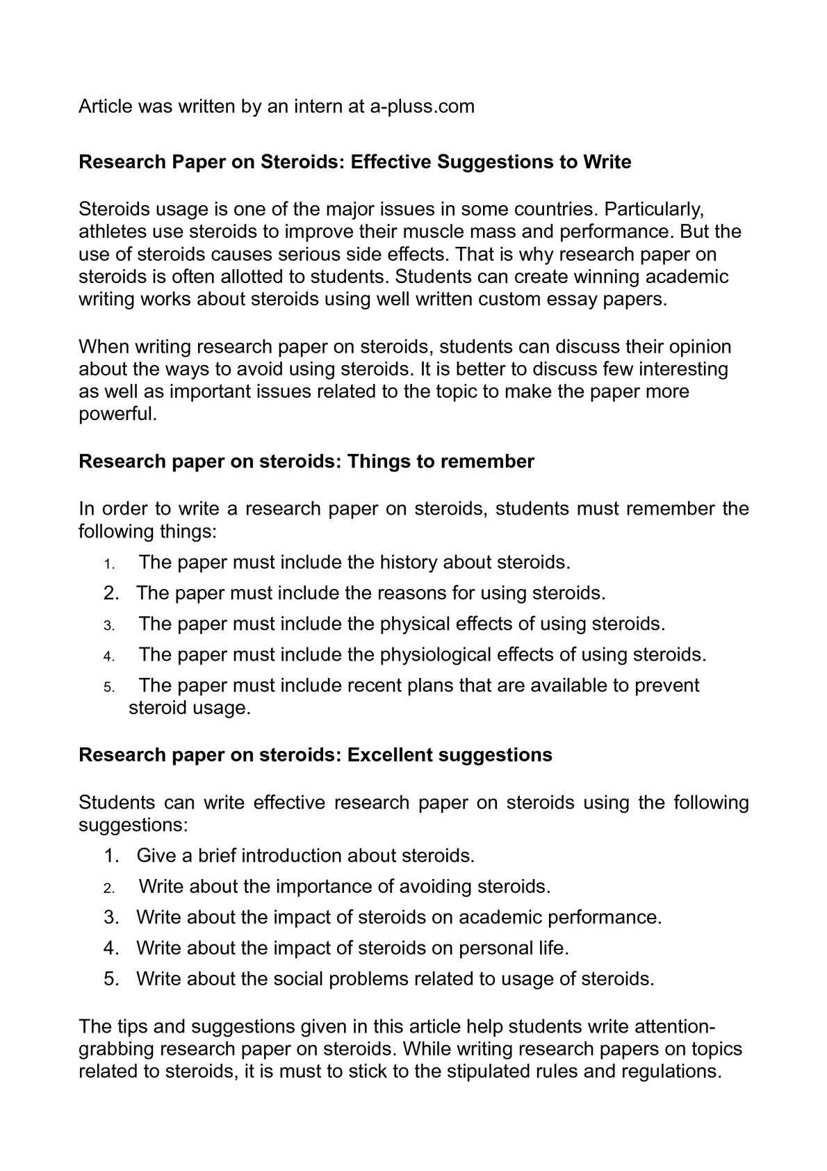 Outline Template Apa Essay