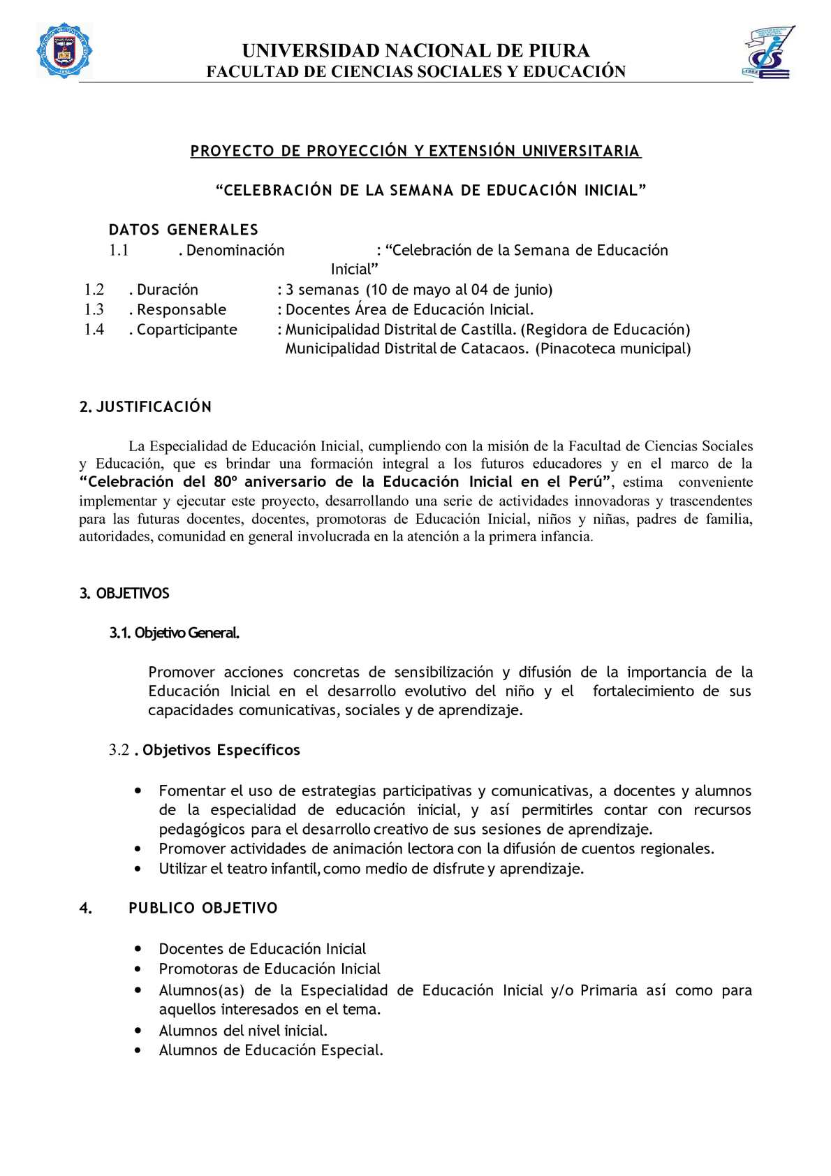 Calaméo - PROYECTO CELEBRACIÓN SEMANA EDUCACIÓN INICIAL[1]