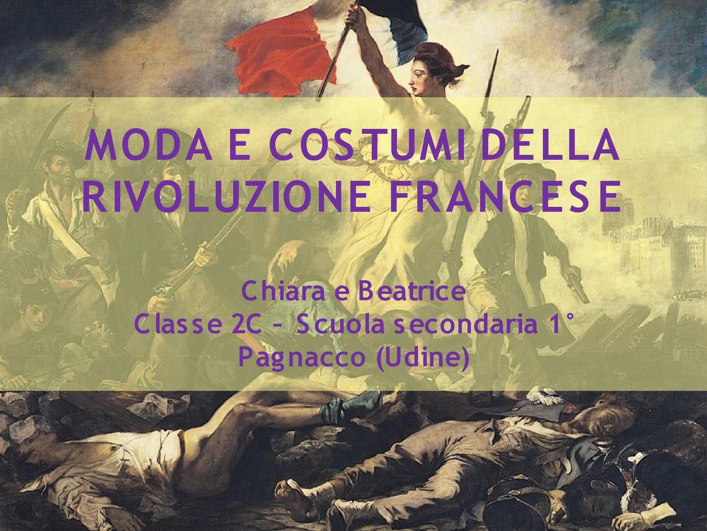 Calaméo - Moda e costumi nel periodo della rivoluzione francese 84286e755823