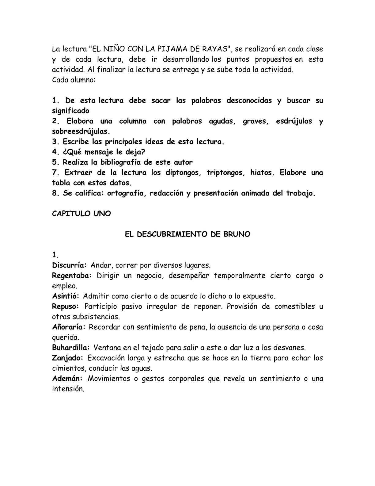 Calaméo - EL NIÑO DE LA PIJAMA CON RAYAS.