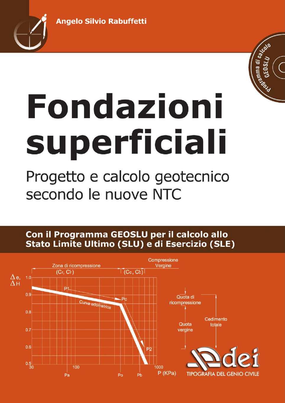 Calcolo Dei Cedimenti Di Fondazioni Superficiali.Calameo Fondazioni Superficiali