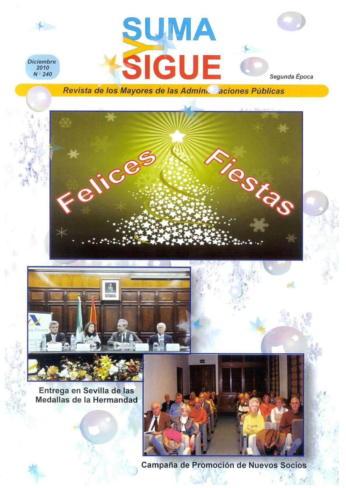 Calaméo - Suma y Sigue  Nº 240 - Diciembre 2010