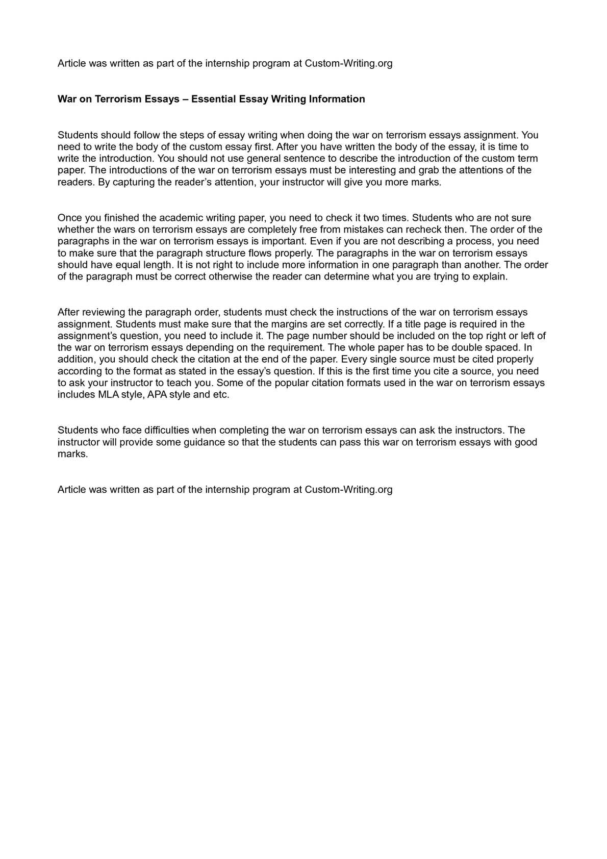 Writing essay war esl phd essay writer website ca