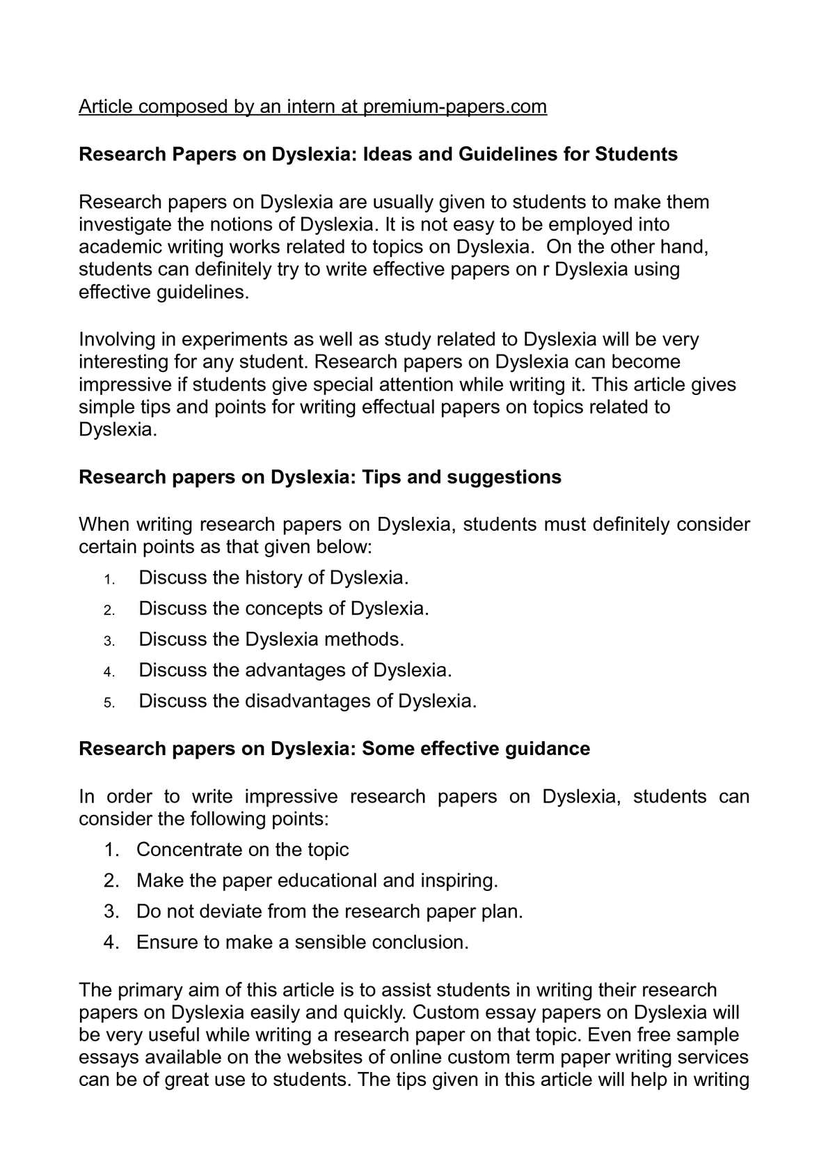 calamo   research papers on dyslexia ideas and guidelines for students