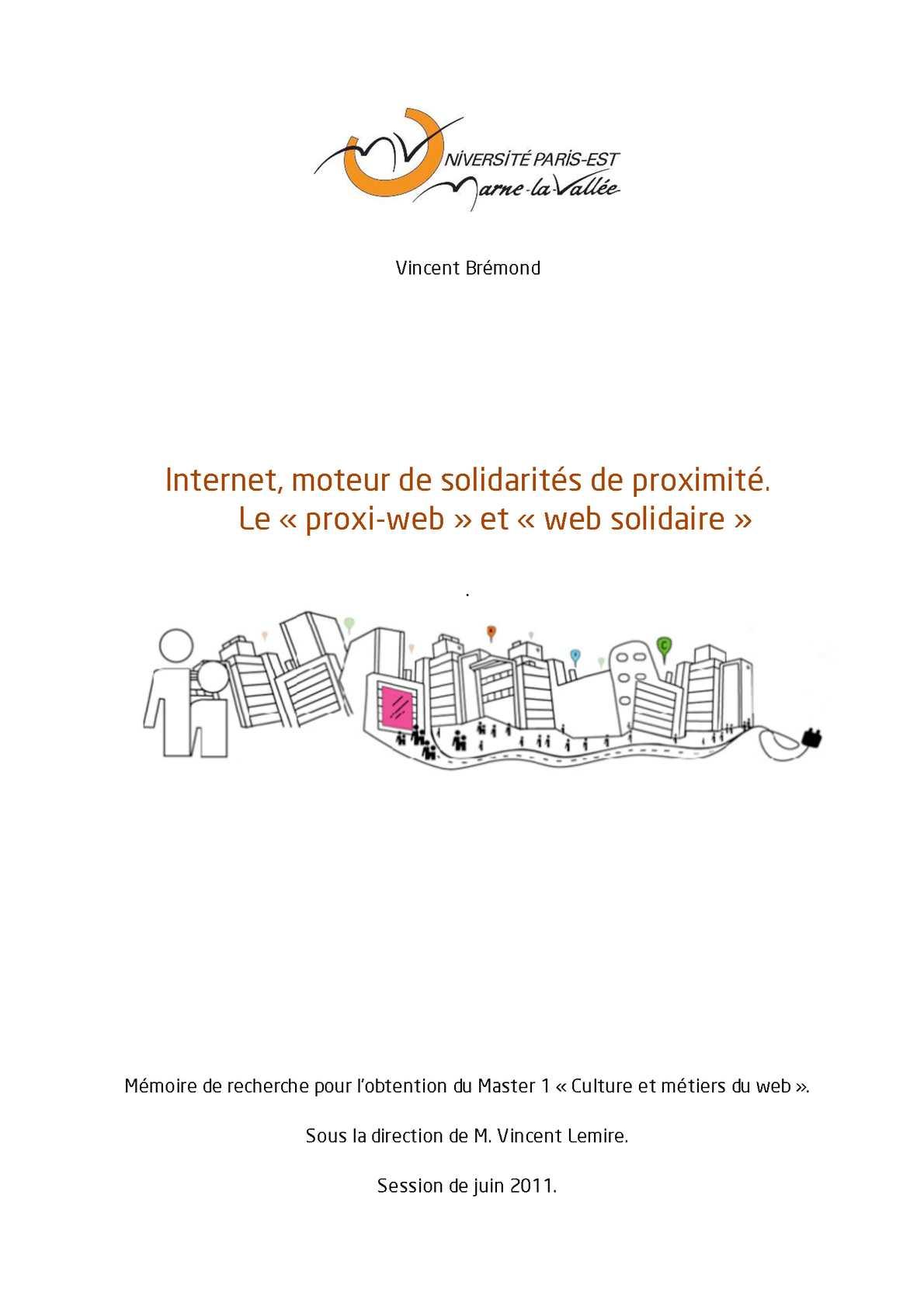 f10891a6b2d737 Calaméo - Internet, moteur de solidarités de proximité. Le « proxi-web » et  « web solidaire »