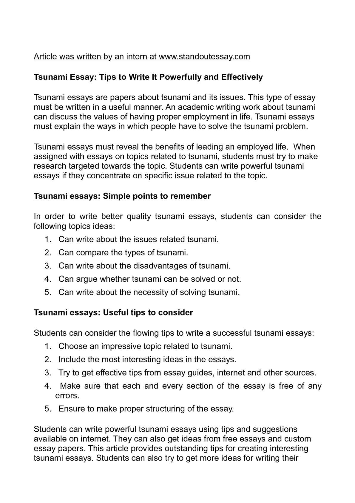 tsunami essay creative writing the tsunami gcse english marked by tsunami essay