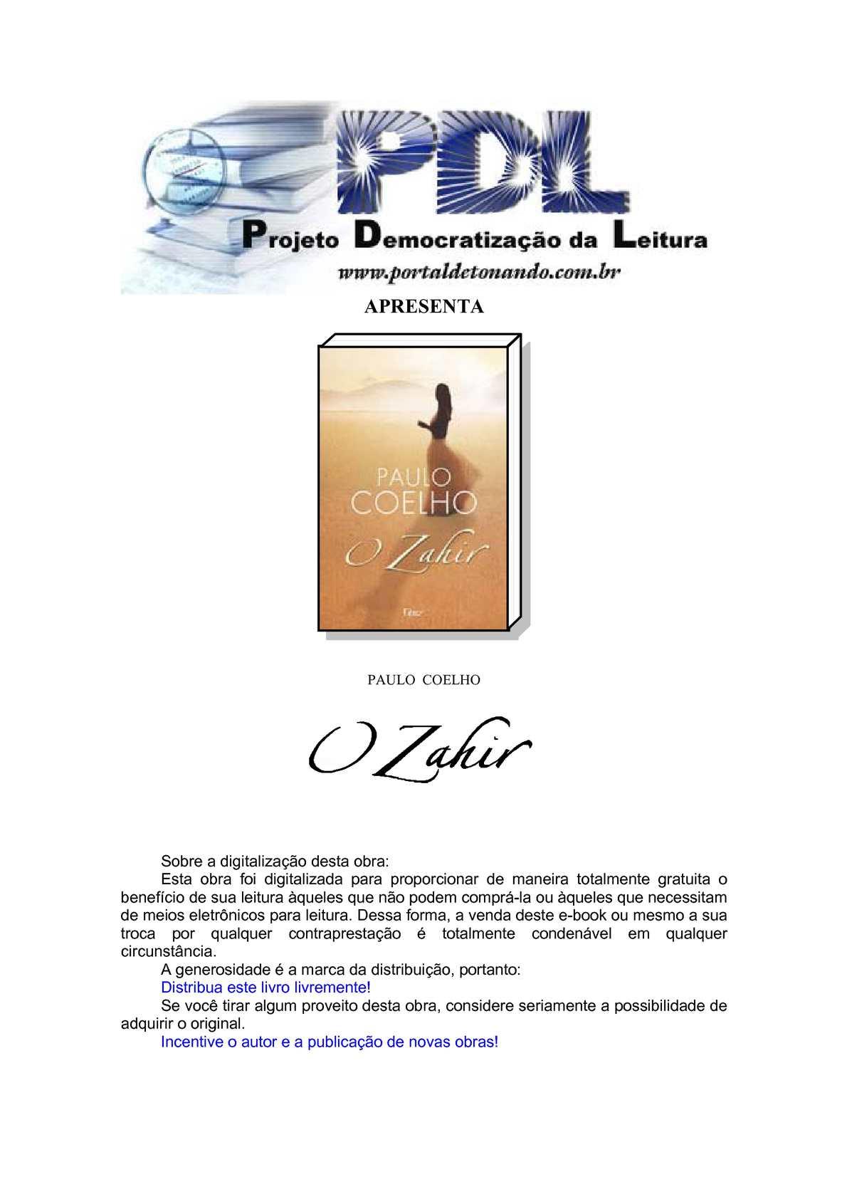 b67c98b5ca7 Calaméo - 2005 - O Zahir