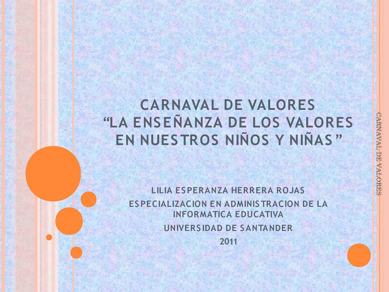 Calaméo Carnaval De Valores 303