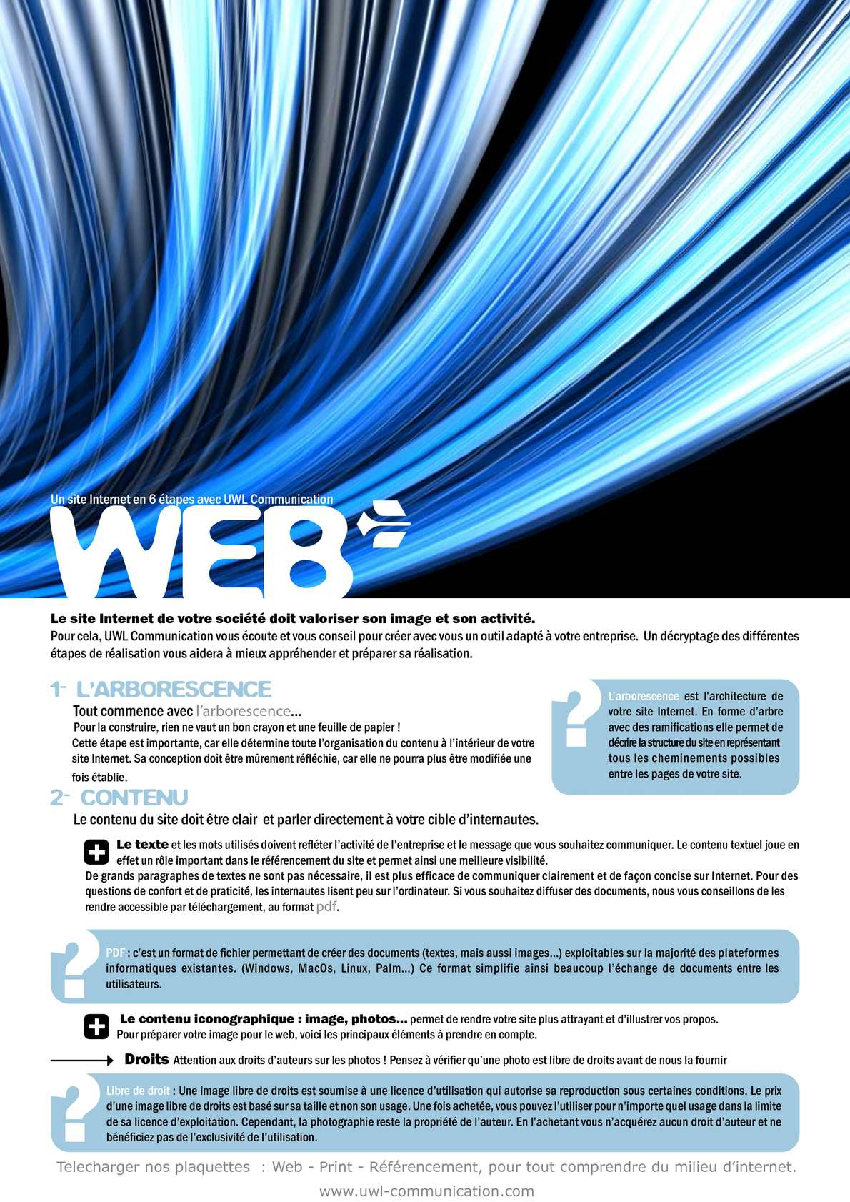 Calameo Uwl Communication Comment Creer Son Site Internet