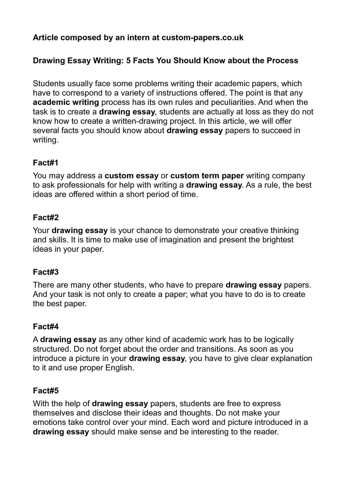 calaméo drawing essay writing 5 facts you should know about the